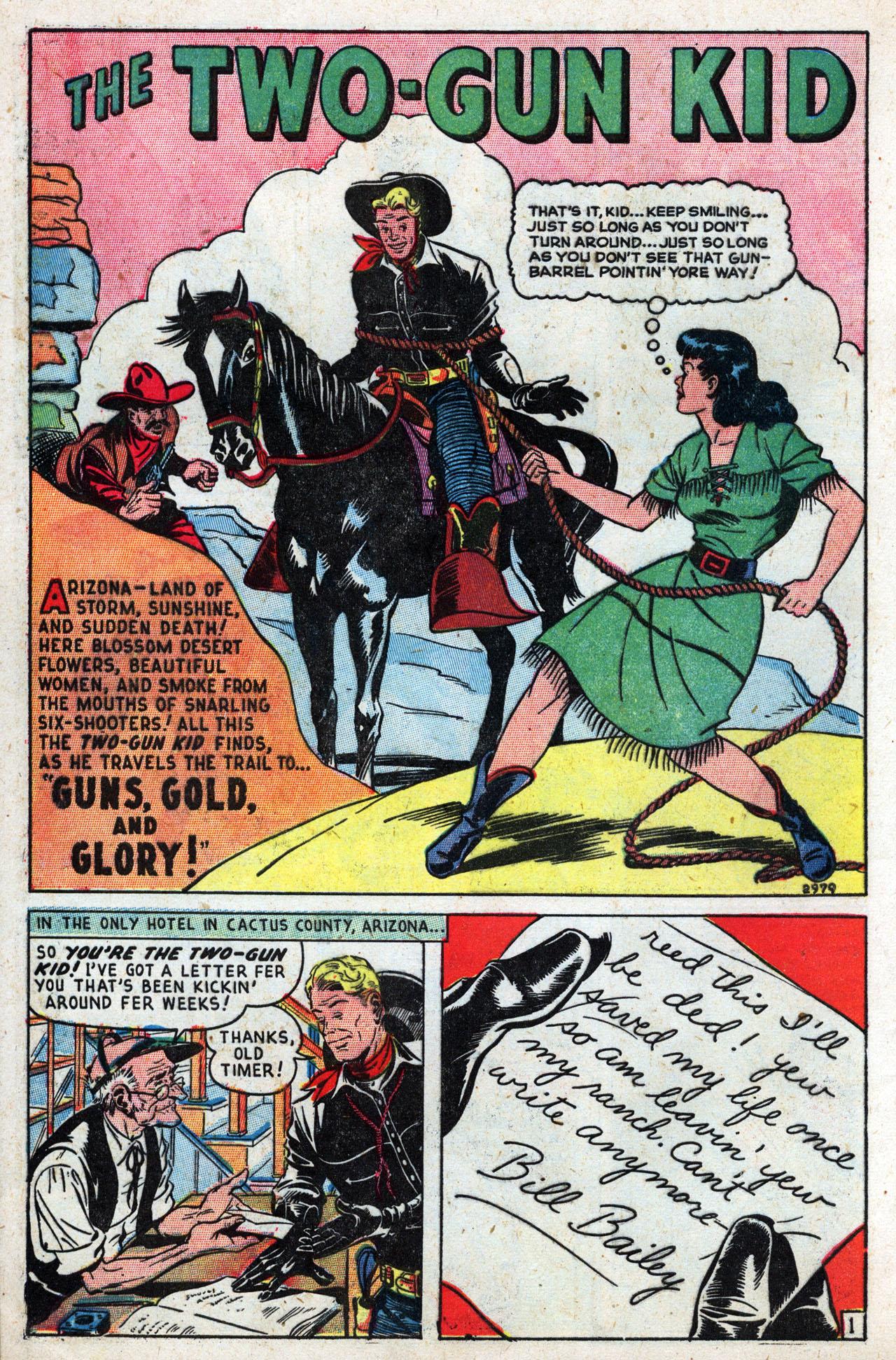 Read online Two-Gun Kid comic -  Issue #3 - 8