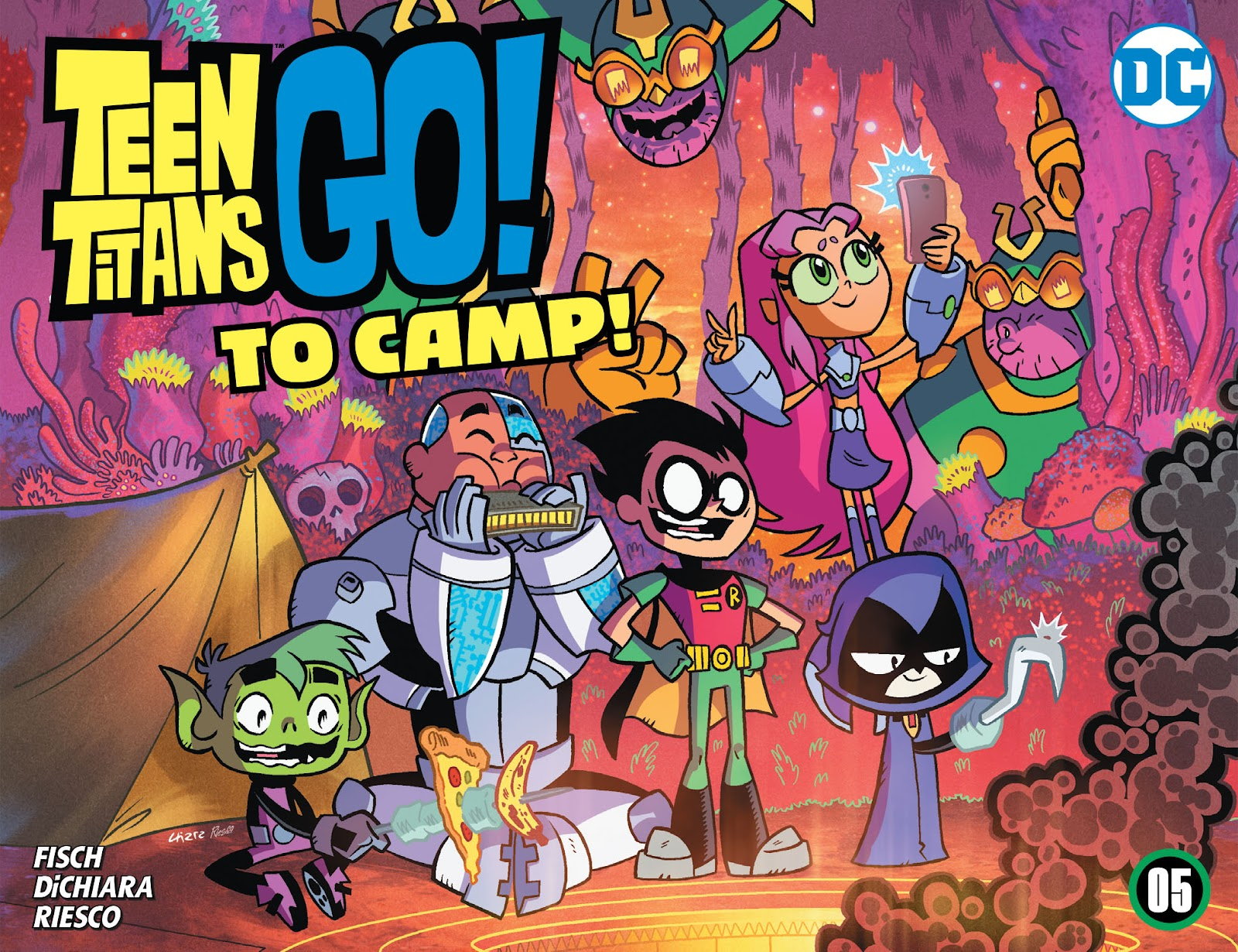 Teen Titans Go! To Camp issue 5 - Page 1