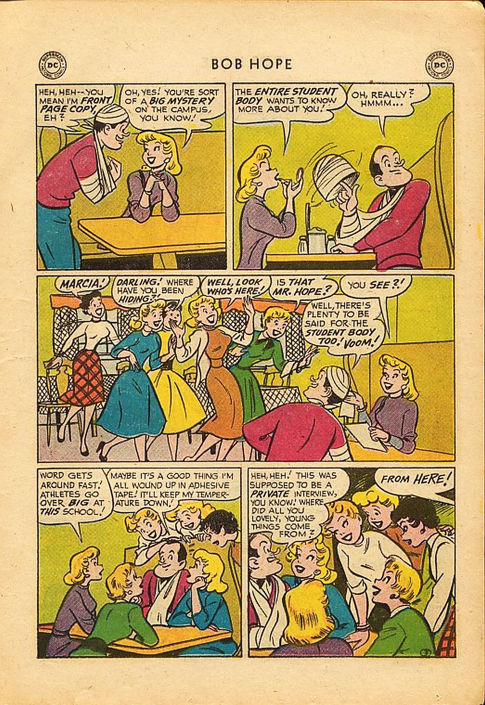 The Adventures of Bob Hope issue 42 - Page 15