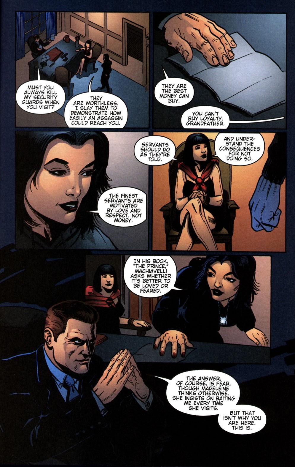 Read online Vampire the Masquerade comic -  Issue # Giovanni - 13