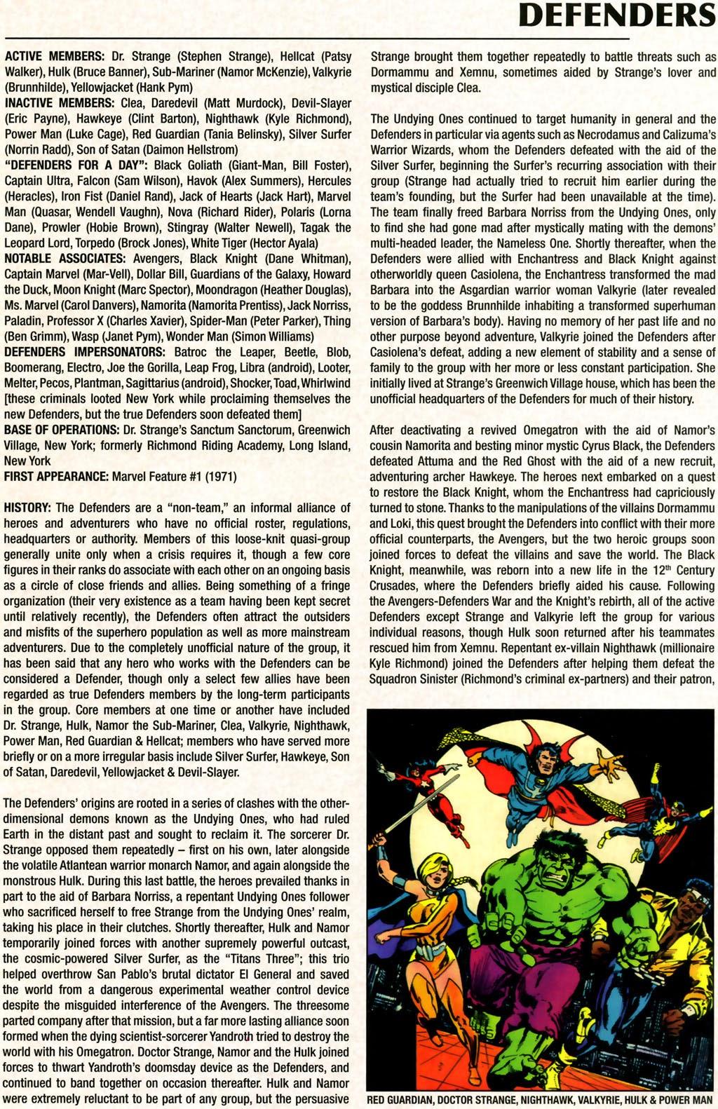 Read online Marvel Legacy: The 1970's Handbook comic -  Issue # Full - 19