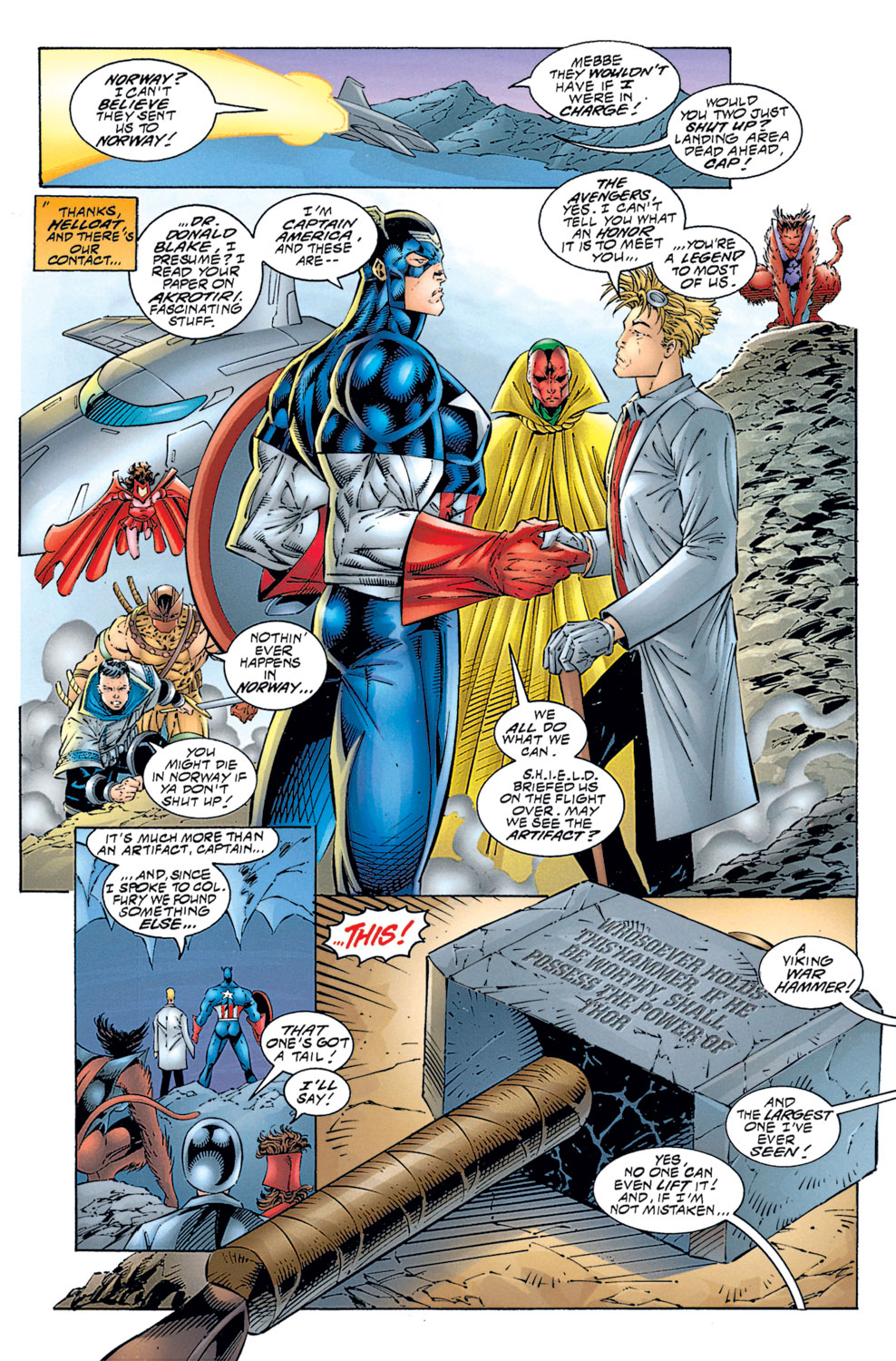 Read online Avengers (1996) comic -  Issue #1 - 19