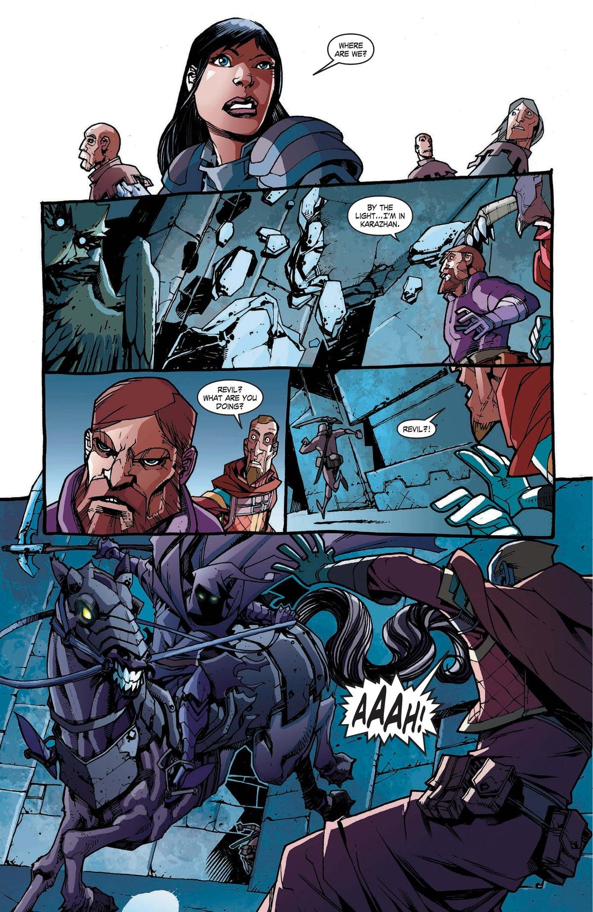 Read online World of Warcraft: Dark Riders comic -  Issue # Full - 104