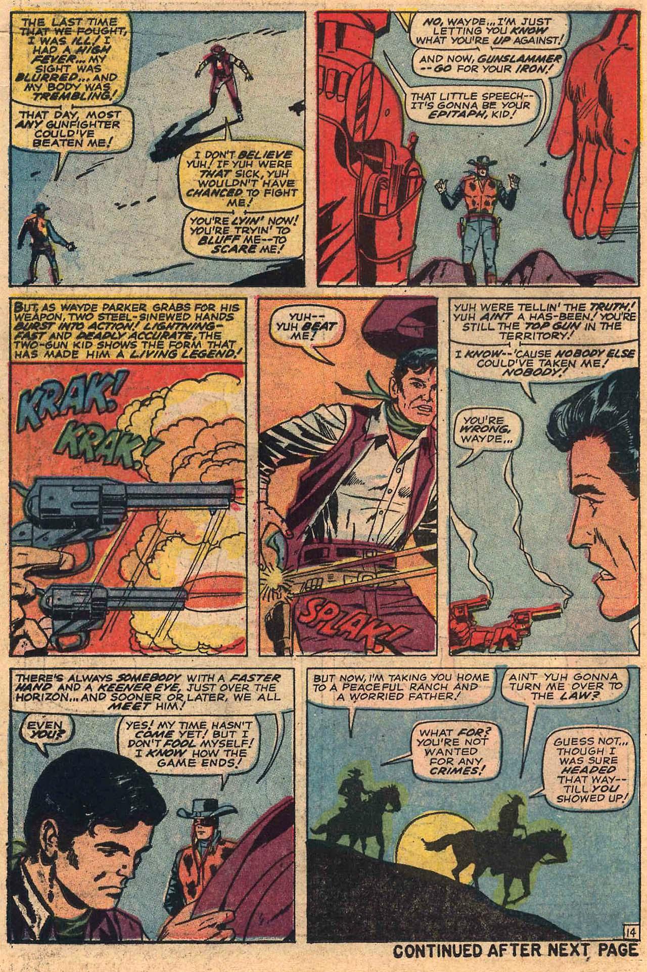 Read online Two-Gun Kid comic -  Issue #84 - 18