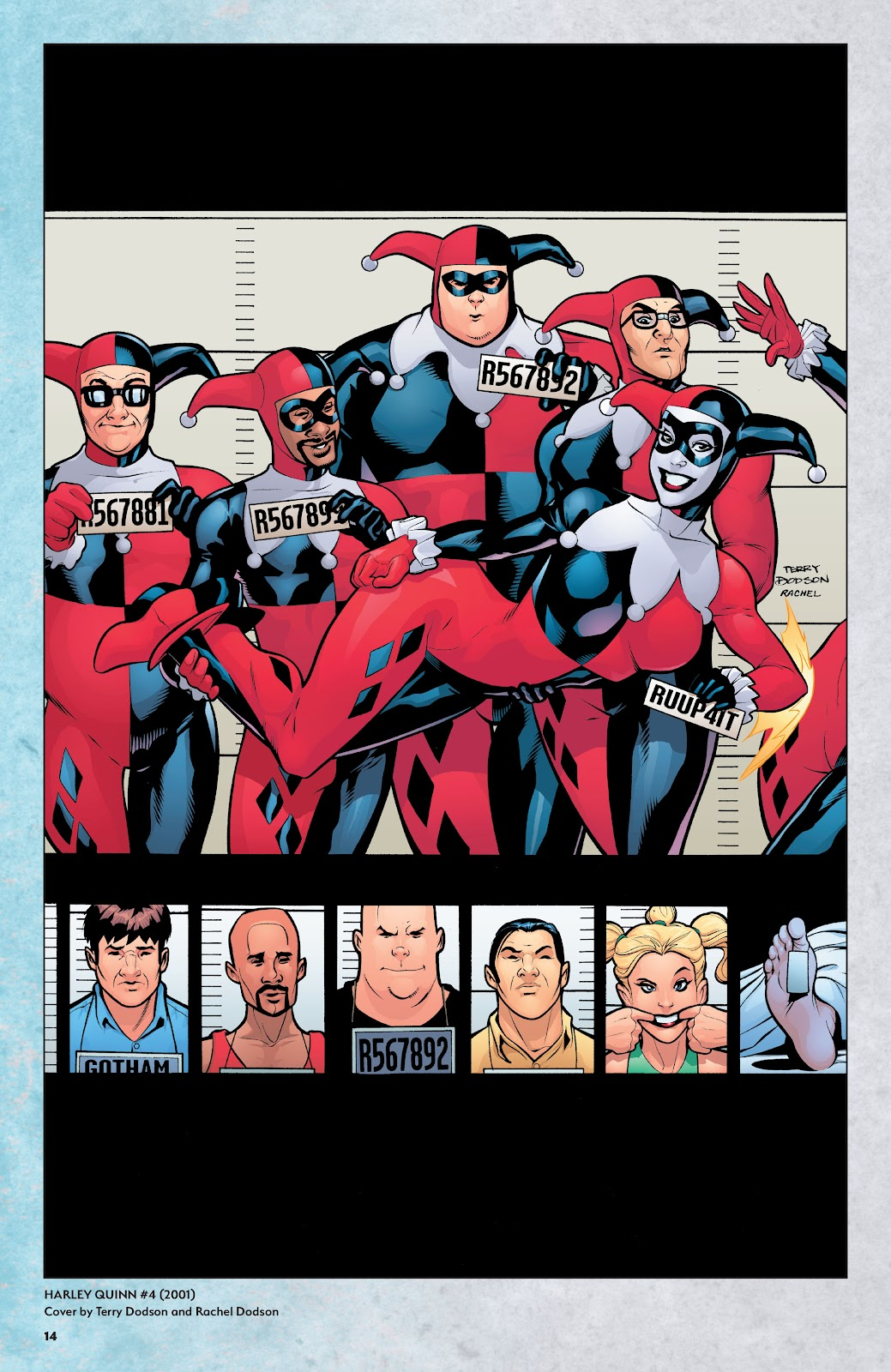 Read online Harley Quinn: A Rogue's Gallery―The Deluxe Cover Art Collection comic -  Issue # TPB (Part 1) - 13