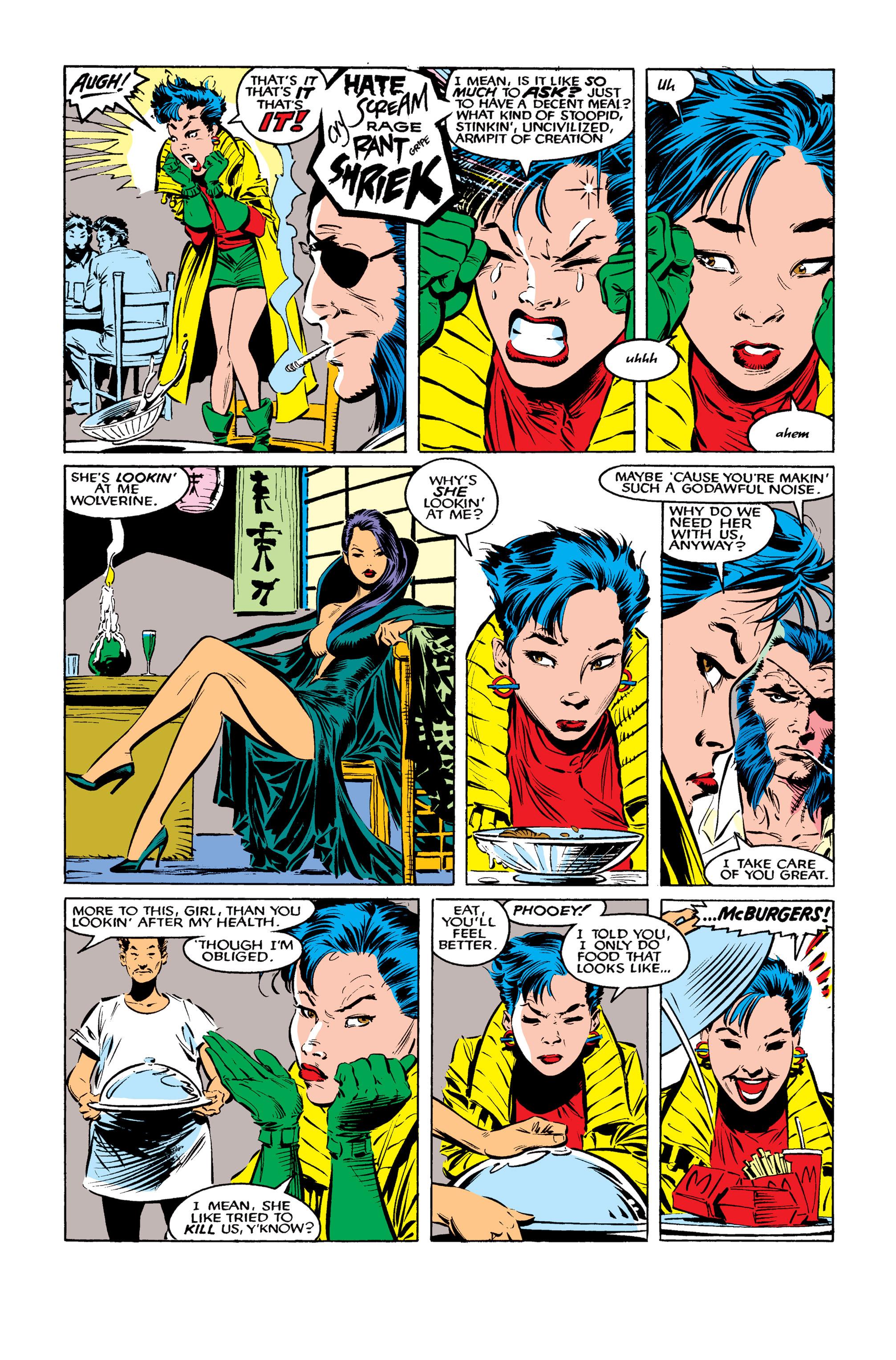 Read online Uncanny X-Men (1963) comic -  Issue #261 - 6