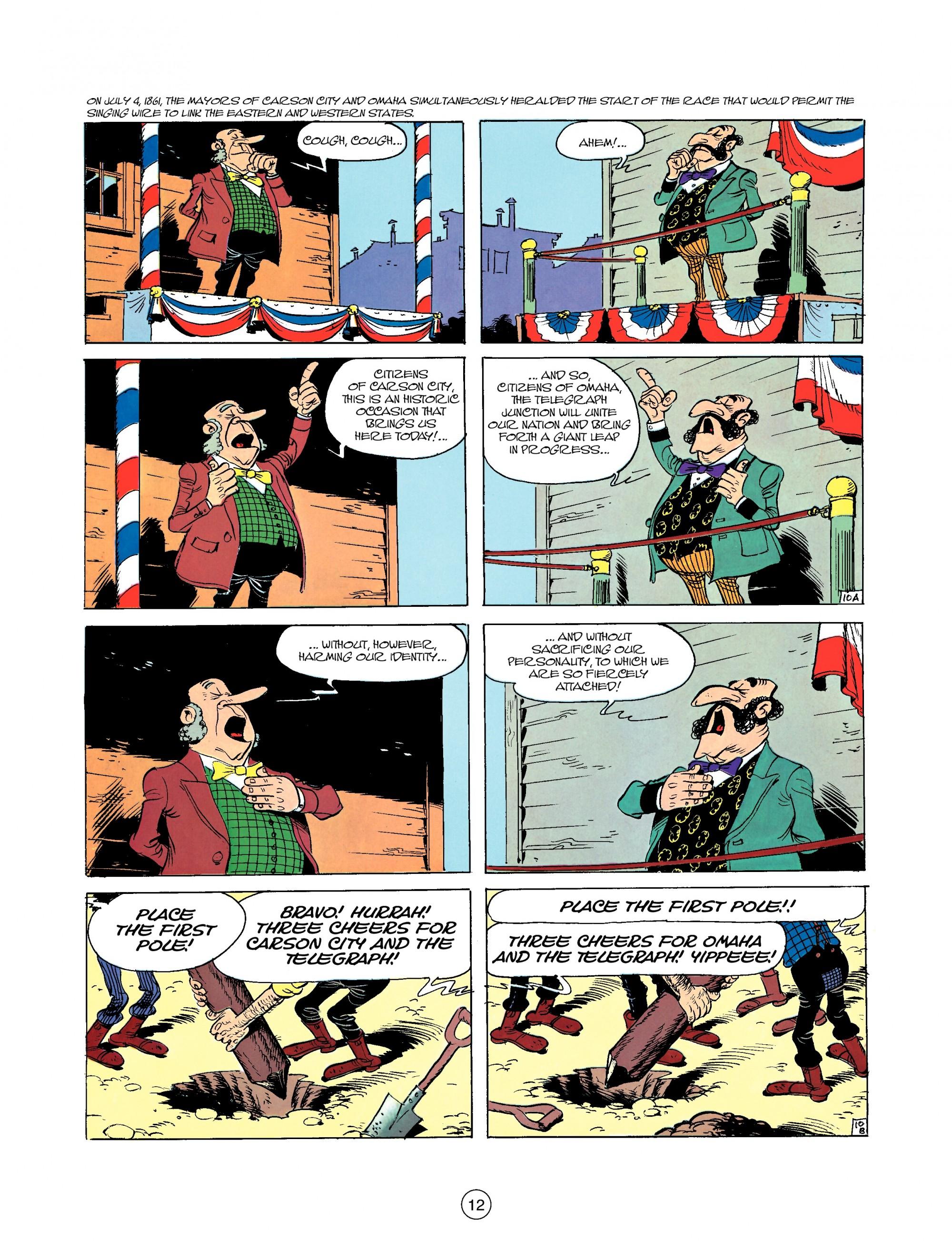 Read online A Lucky Luke Adventure comic -  Issue #35 - 12