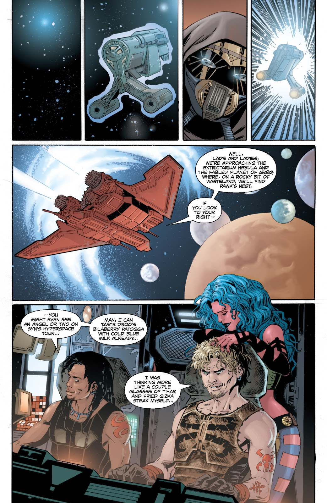 Read online Star Wars Legends: Legacy - Epic Collection comic -  Issue # TPB 2 (Part 2) - 19