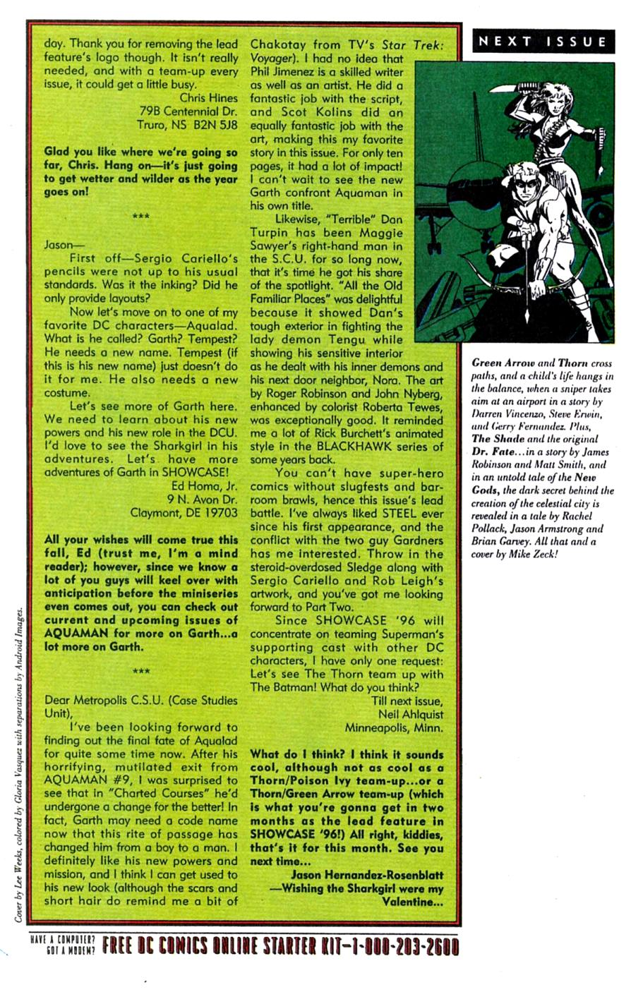 Read online Showcase '96 comic -  Issue #4 - 39