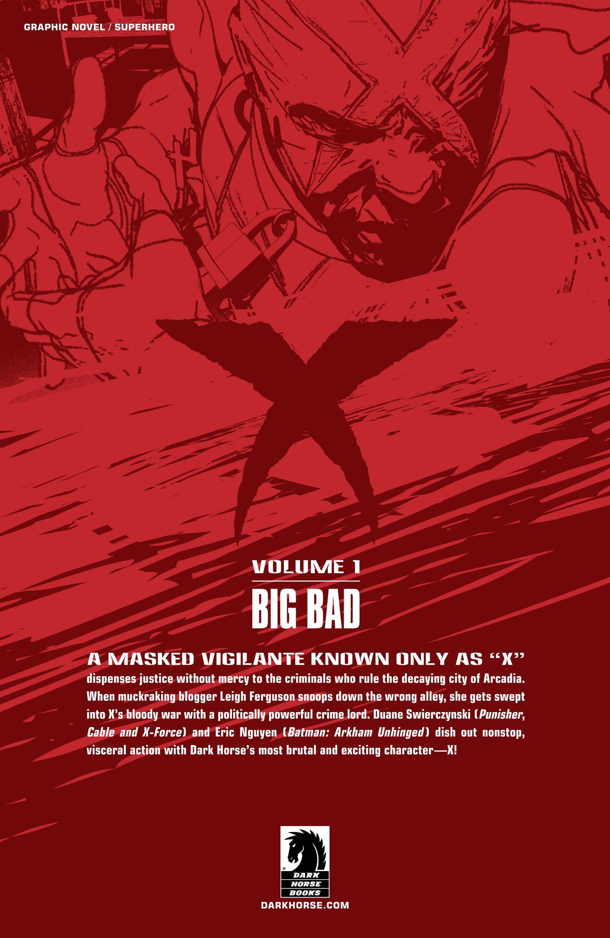 Read online X: Big Bad comic -  Issue # Full - 133