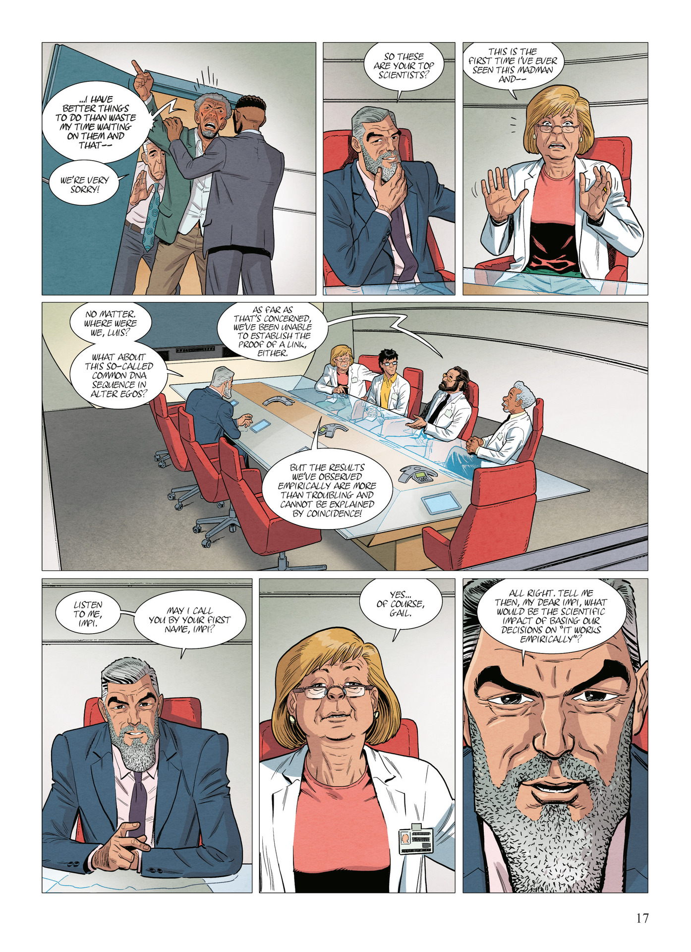 Read online Alter Ego comic -  Issue #10 - 18