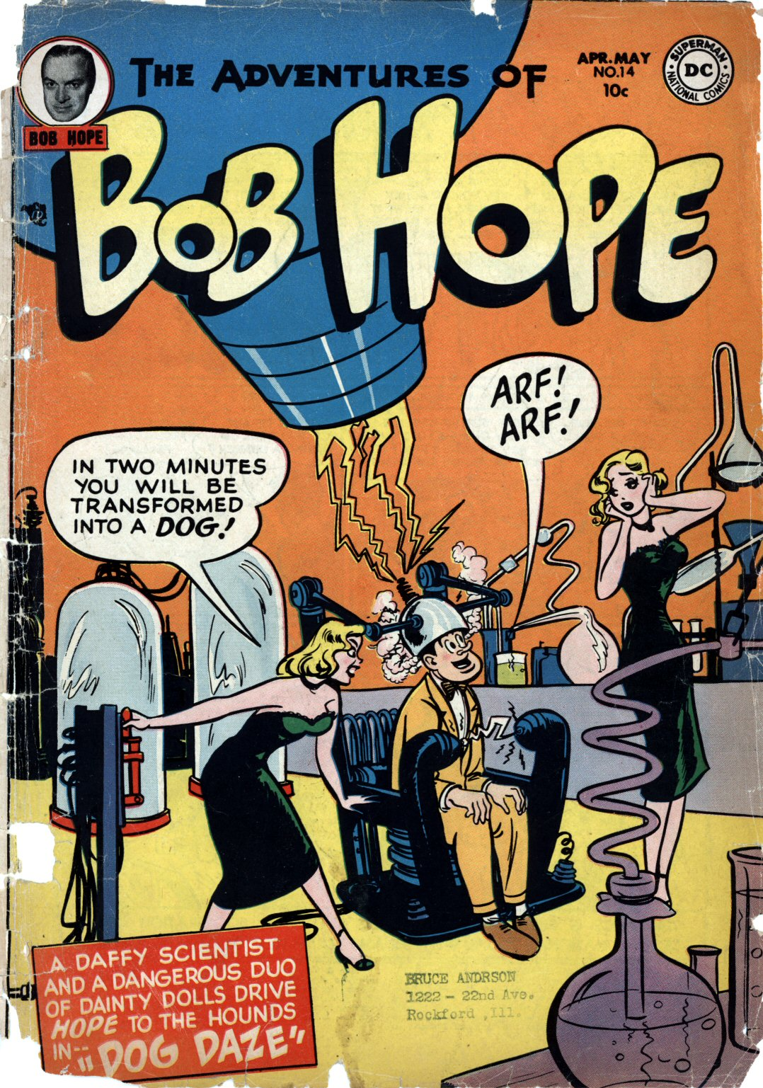 The Adventures of Bob Hope issue 14 - Page 1