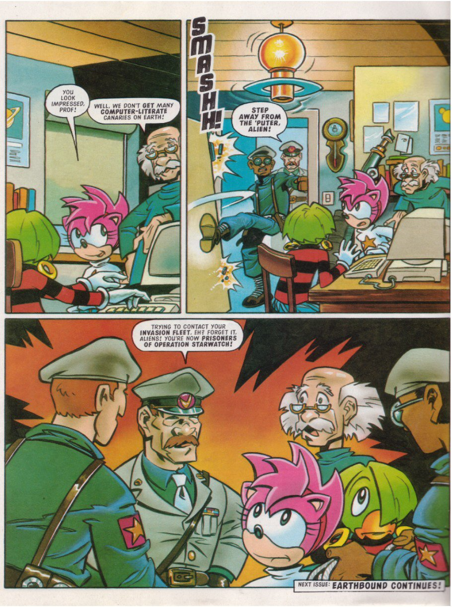 Read online Sonic the Comic comic -  Issue #114 - 27