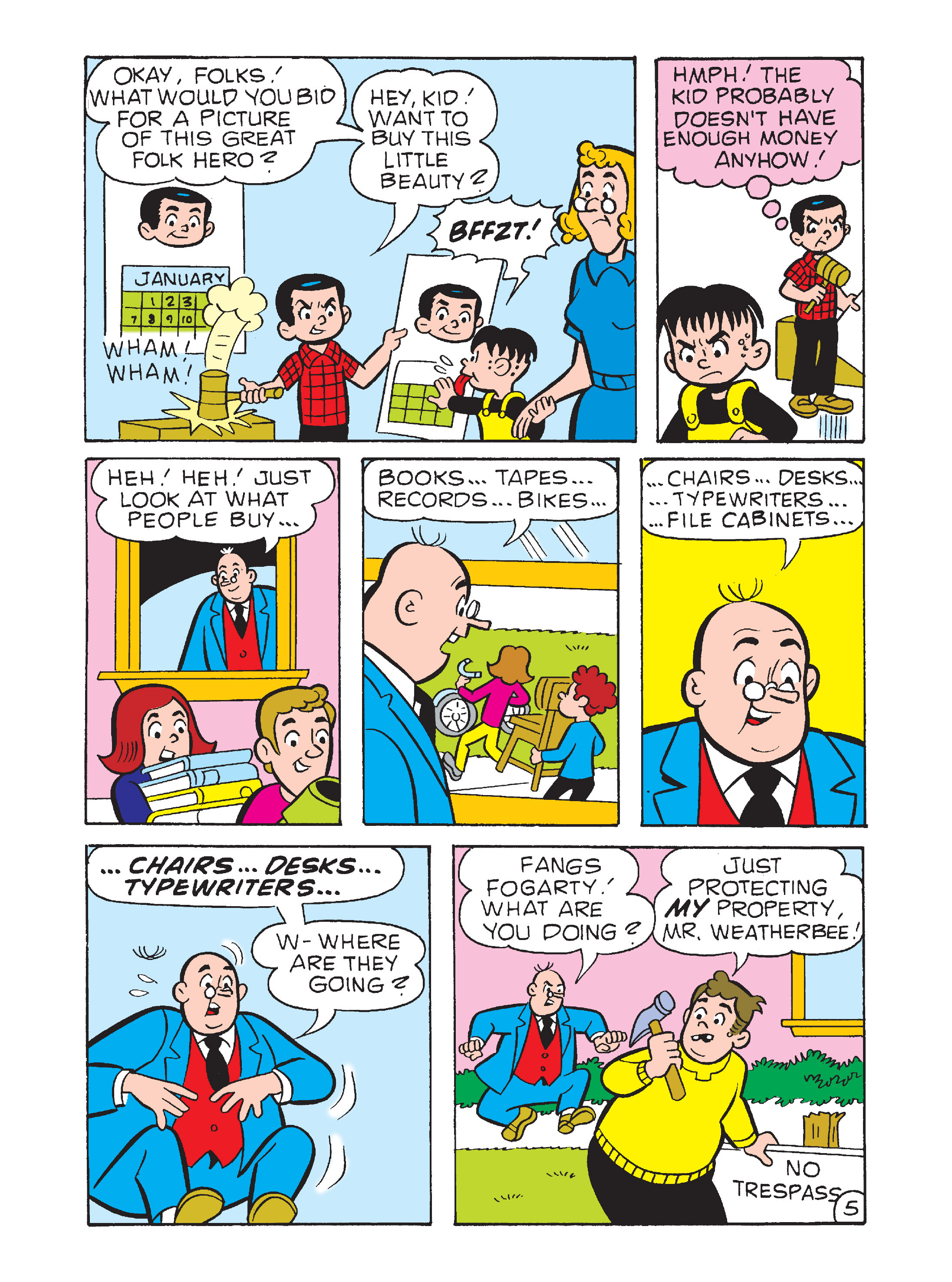 Read online Archie's Funhouse Double Digest comic -  Issue #12 - 137