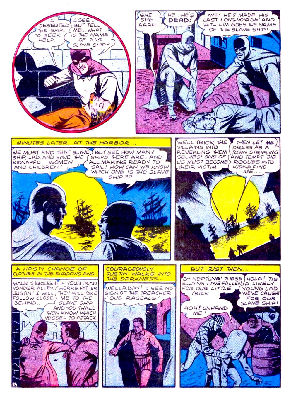 Read online Sensation (Mystery) Comics comic -  Issue #29 - 19