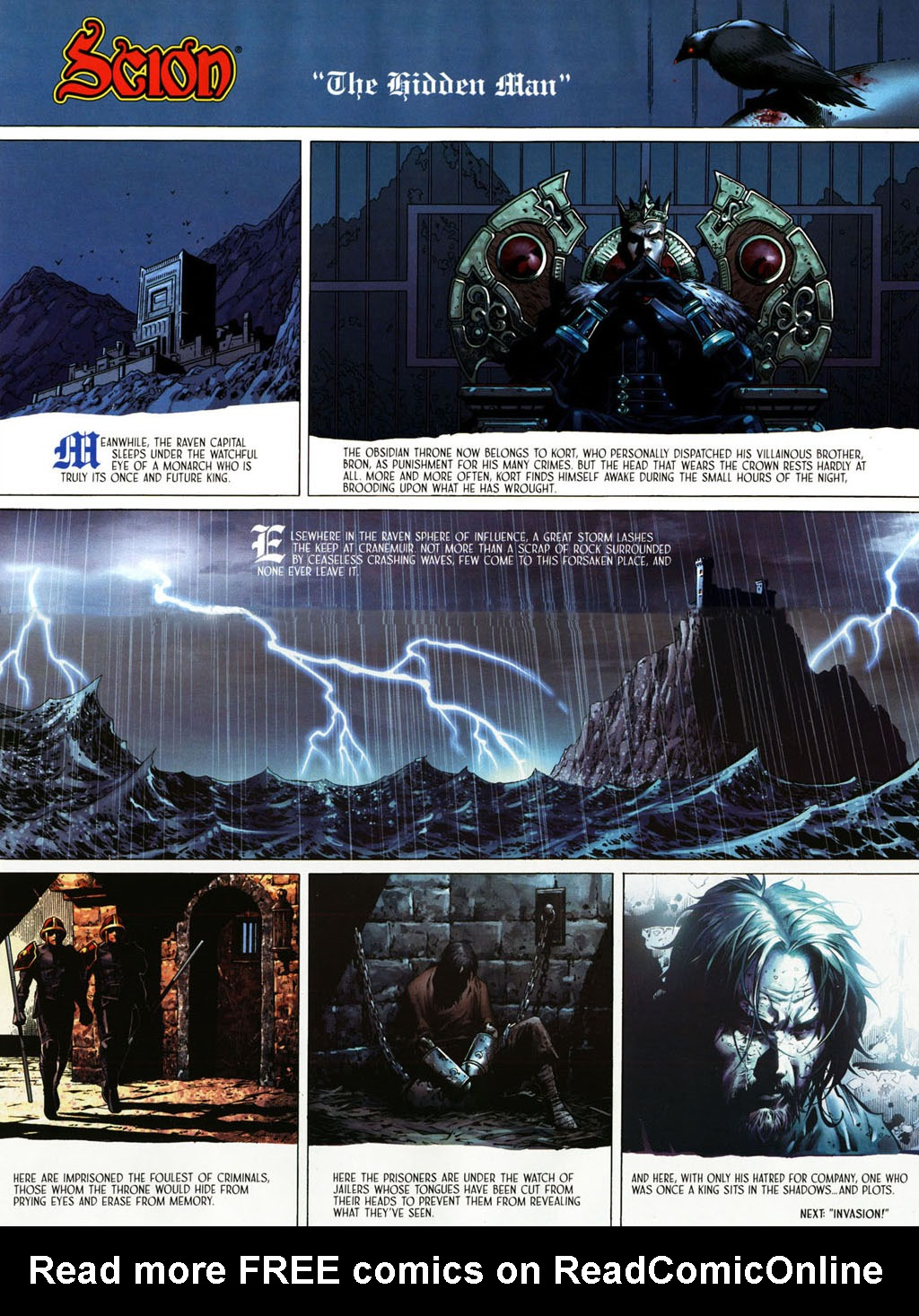 Read online Scion comic -  Issue #39 - 13
