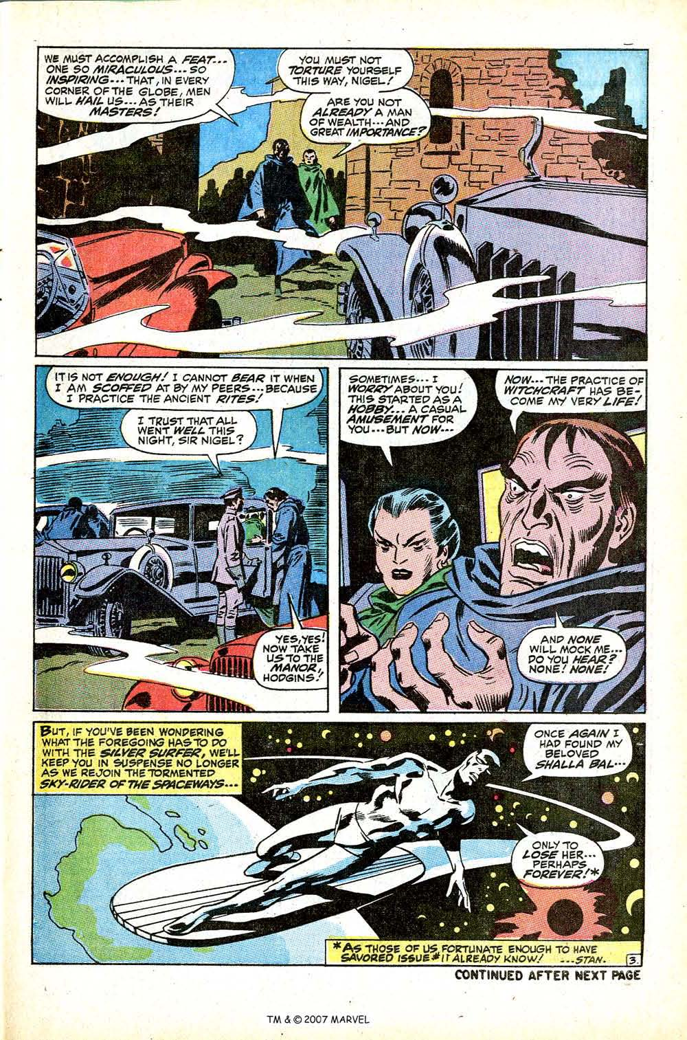 Read online Silver Surfer (1968) comic -  Issue #12 - 5