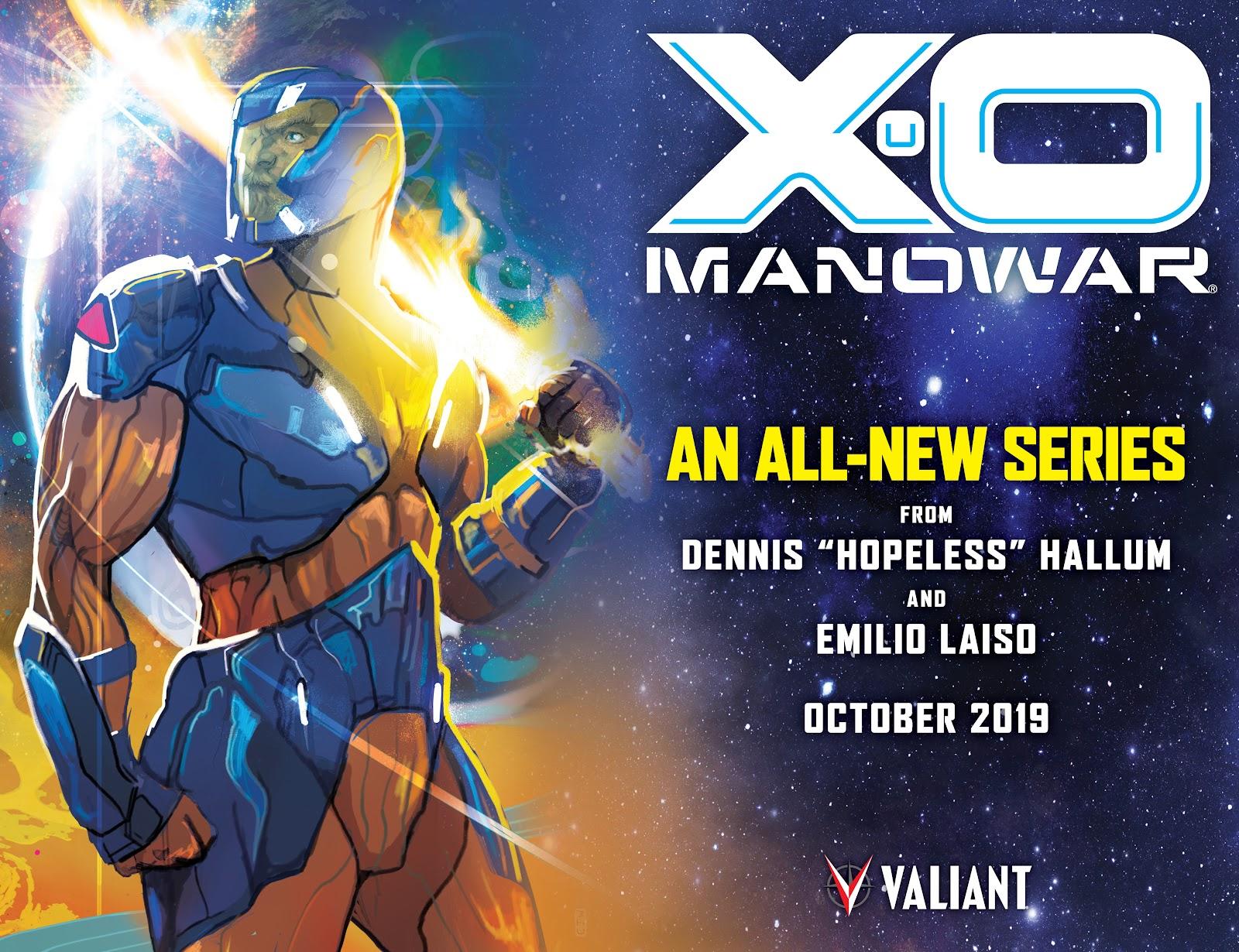 Read online X-O Manowar (2017) comic -  Issue #26 - 25