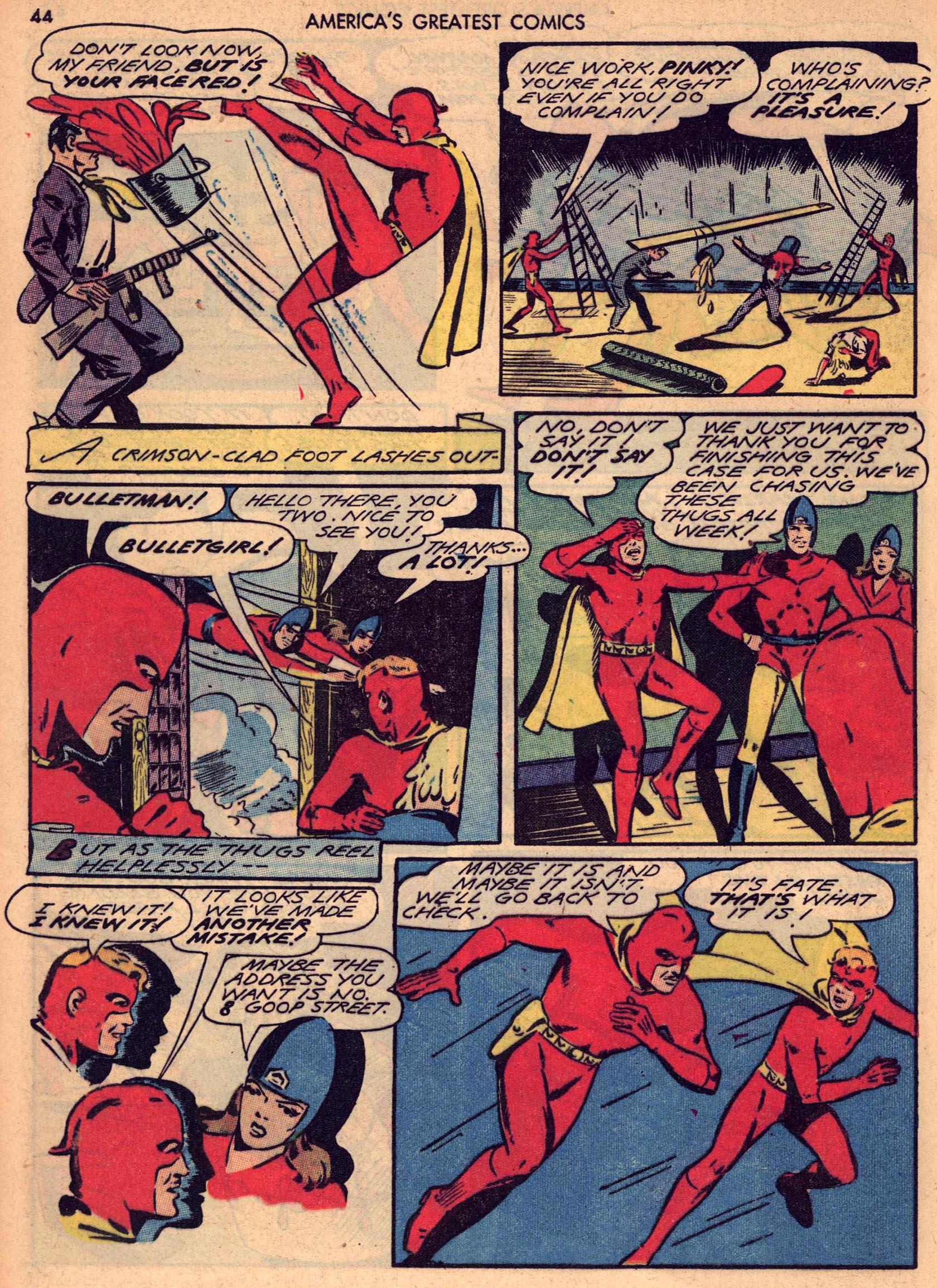 Read online America's Greatest Comics comic -  Issue #7 - 43