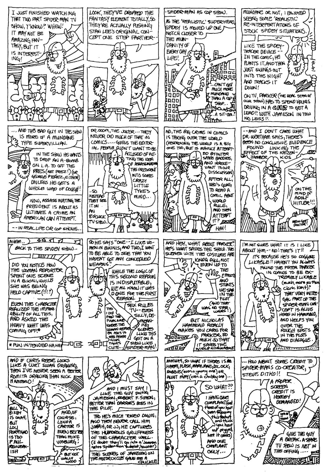 Read online The Nearly Complete Essential Hembeck Archives Omnibus comic -  Issue # TPB (Part 1) - 66