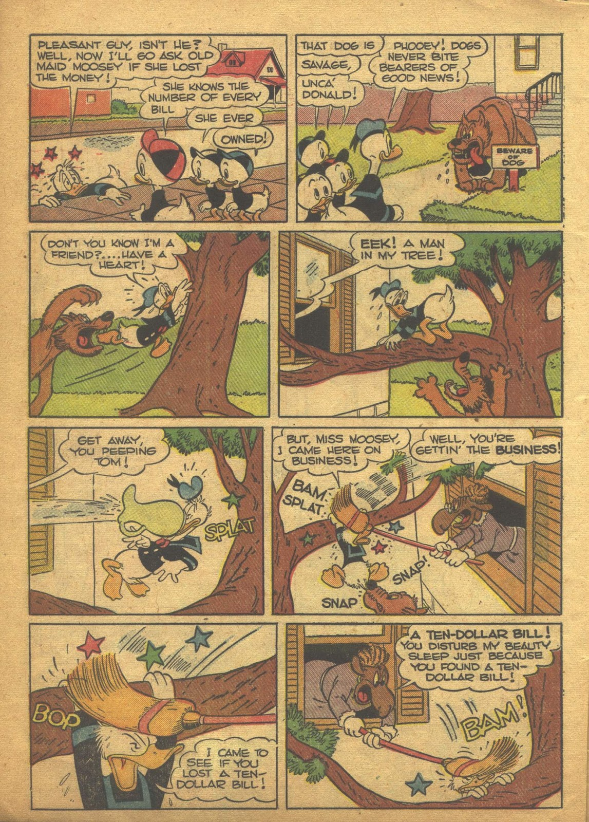 Walt Disney's Comics and Stories issue 63 - Page 6