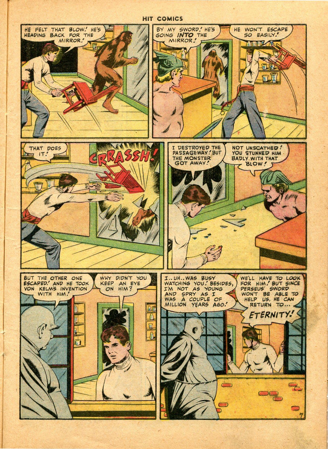Read online Hit Comics comic -  Issue #49 - 9
