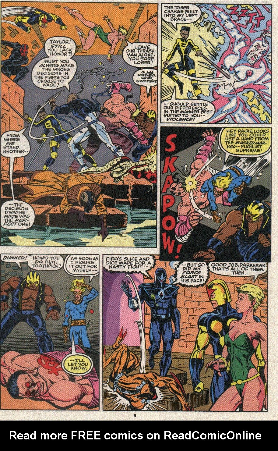 The New Warriors Issue #24 #28 - English 7