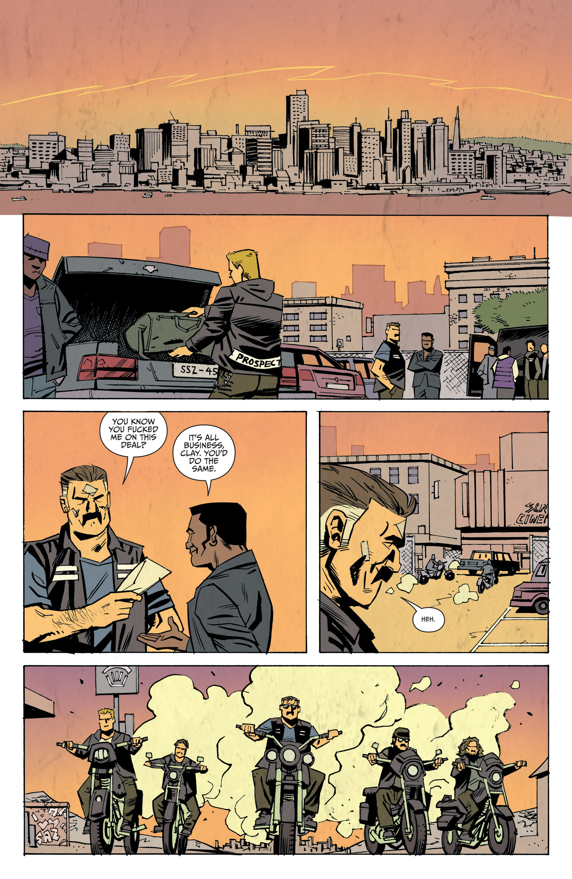 Read online Sons of Anarchy: Redwood Original comic -  Issue #8 - 18
