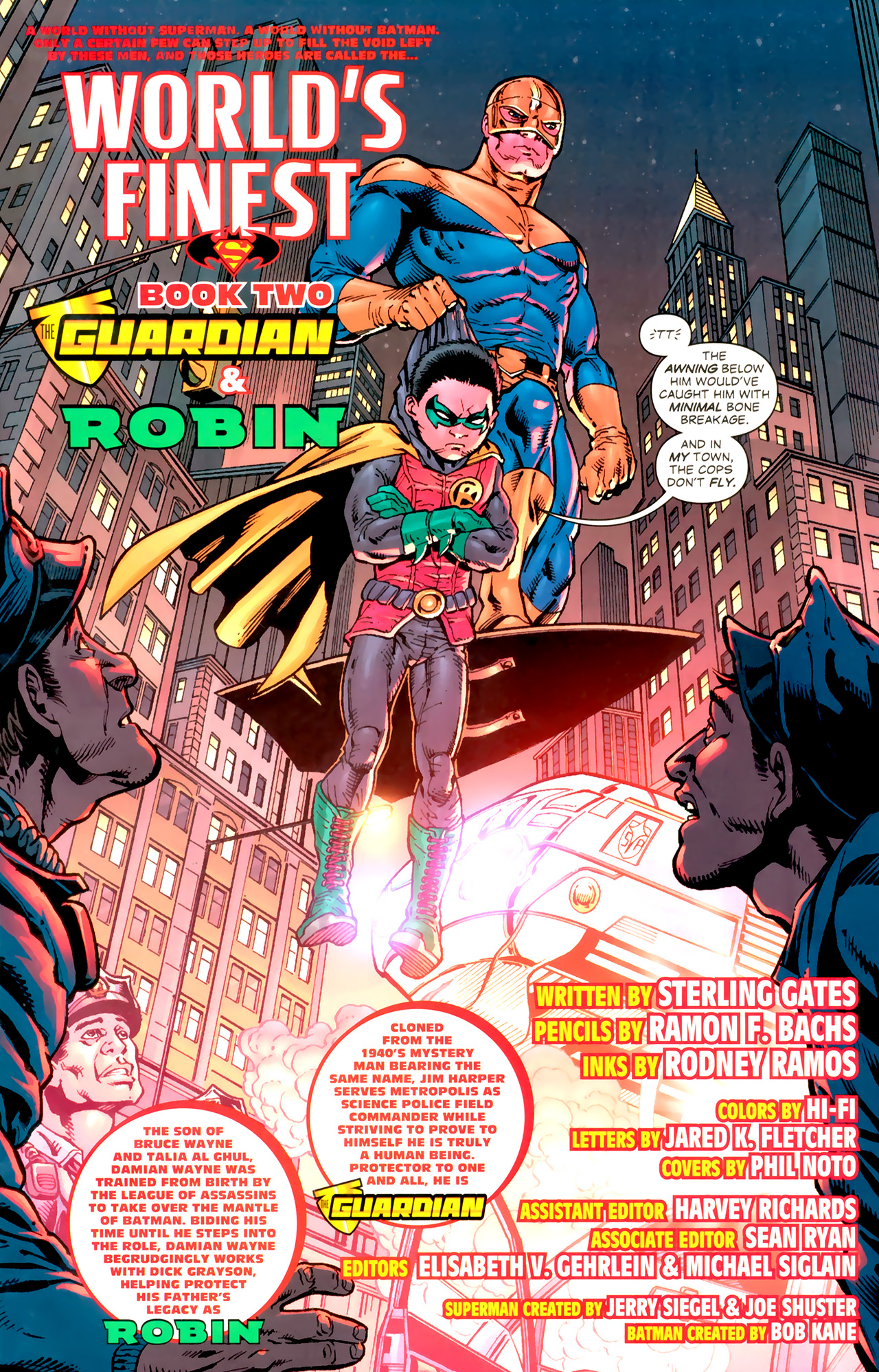 Read online World's Finest (2009) comic -  Issue #2 - 9