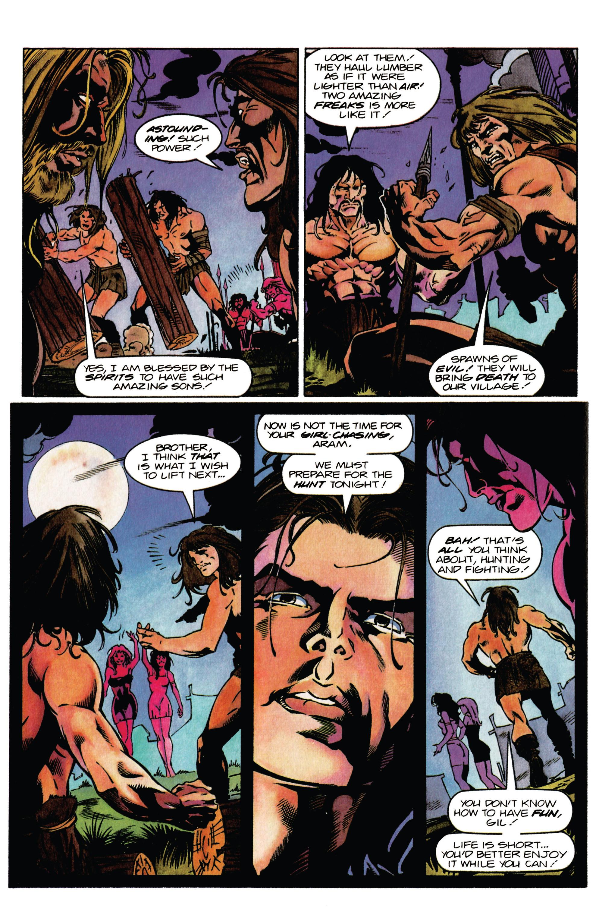 Read online Eternal Warrior (1992) comic -  Issue #37 - 8