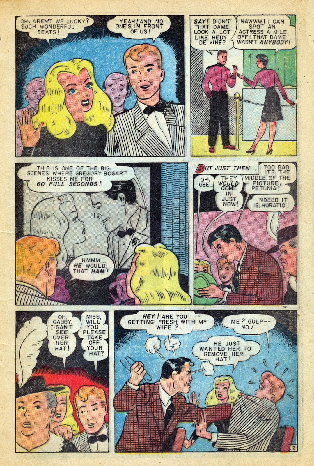 Read online Millie the Model comic -  Issue #14 - 25