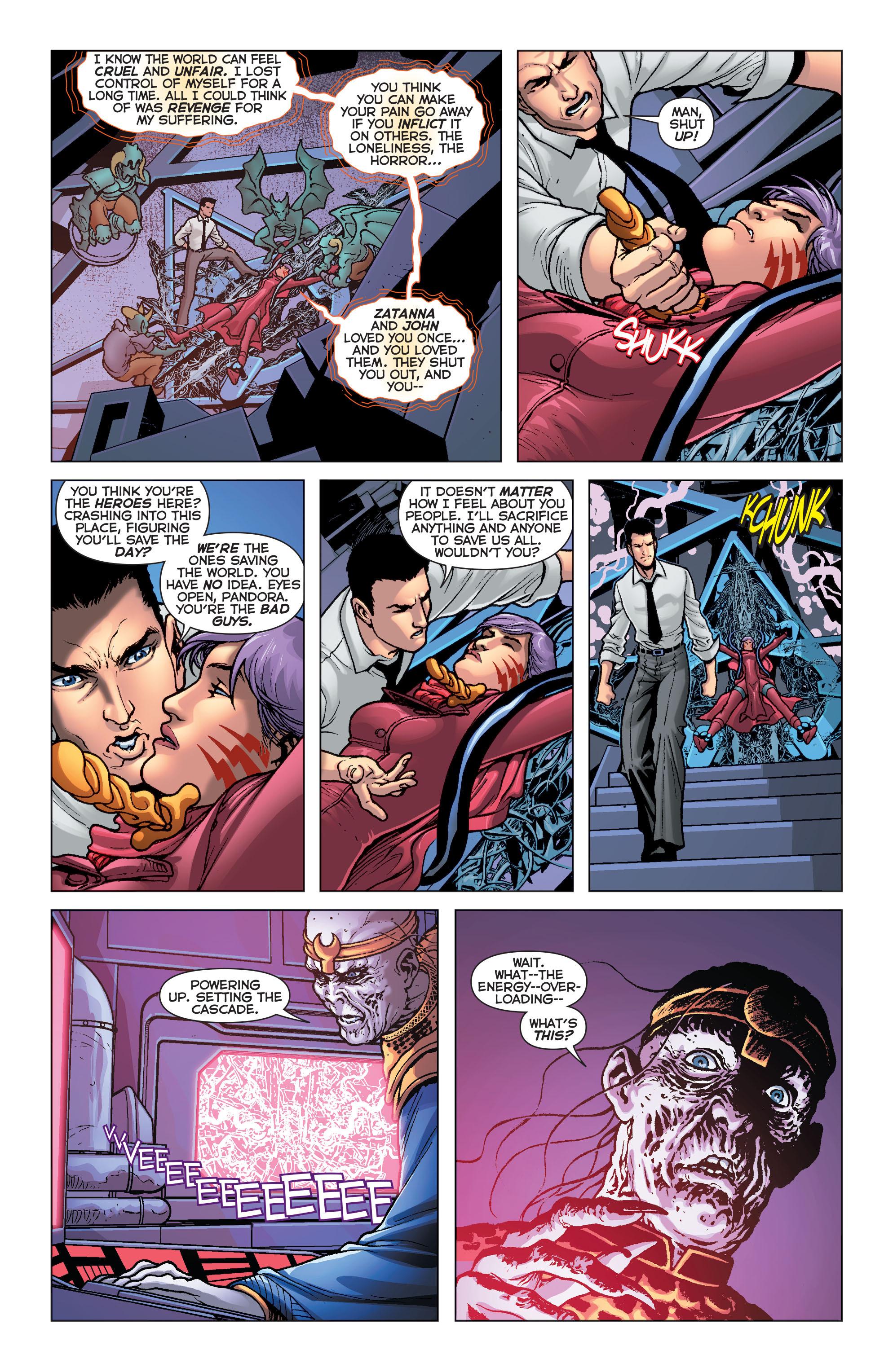 Read online Trinity of Sin: Pandora comic -  Issue #8 - 16