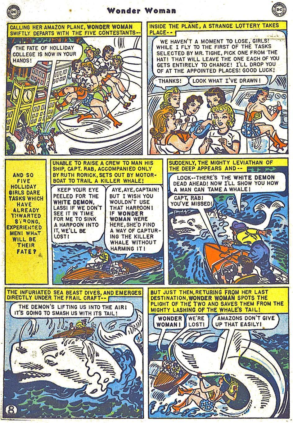 Read online Wonder Woman (1942) comic -  Issue #38 - 44