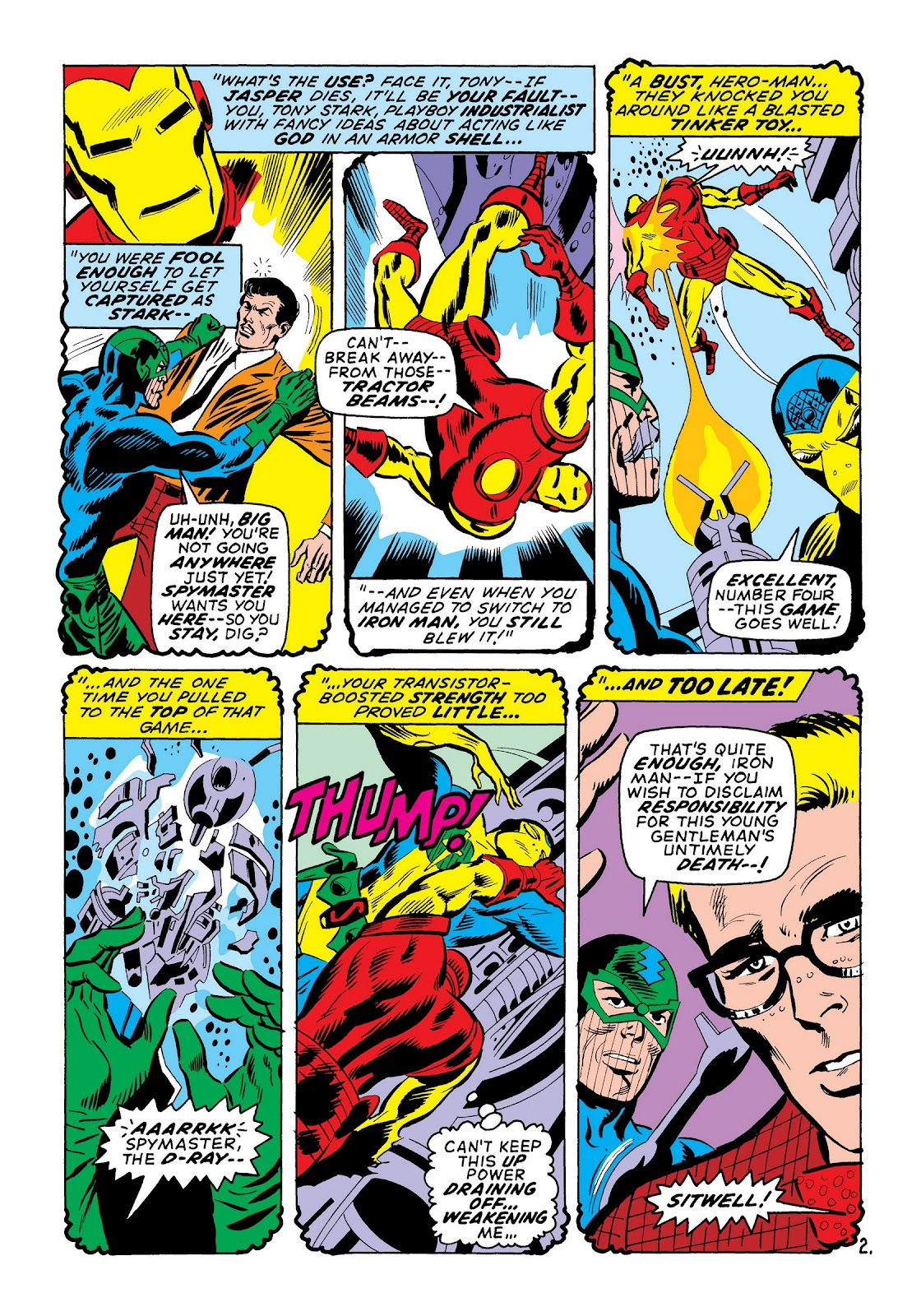Read online Marvel Masterworks: The Invincible Iron Man comic -  Issue # TPB 7 (Part 2) - 91