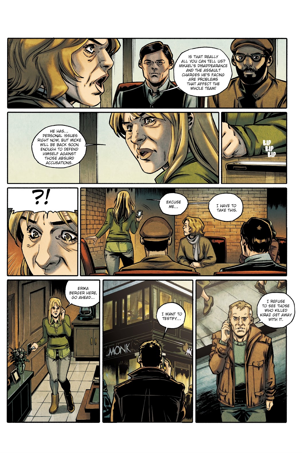 Read online Millennium: The Girl Who Danced With Death comic -  Issue #3 - 42