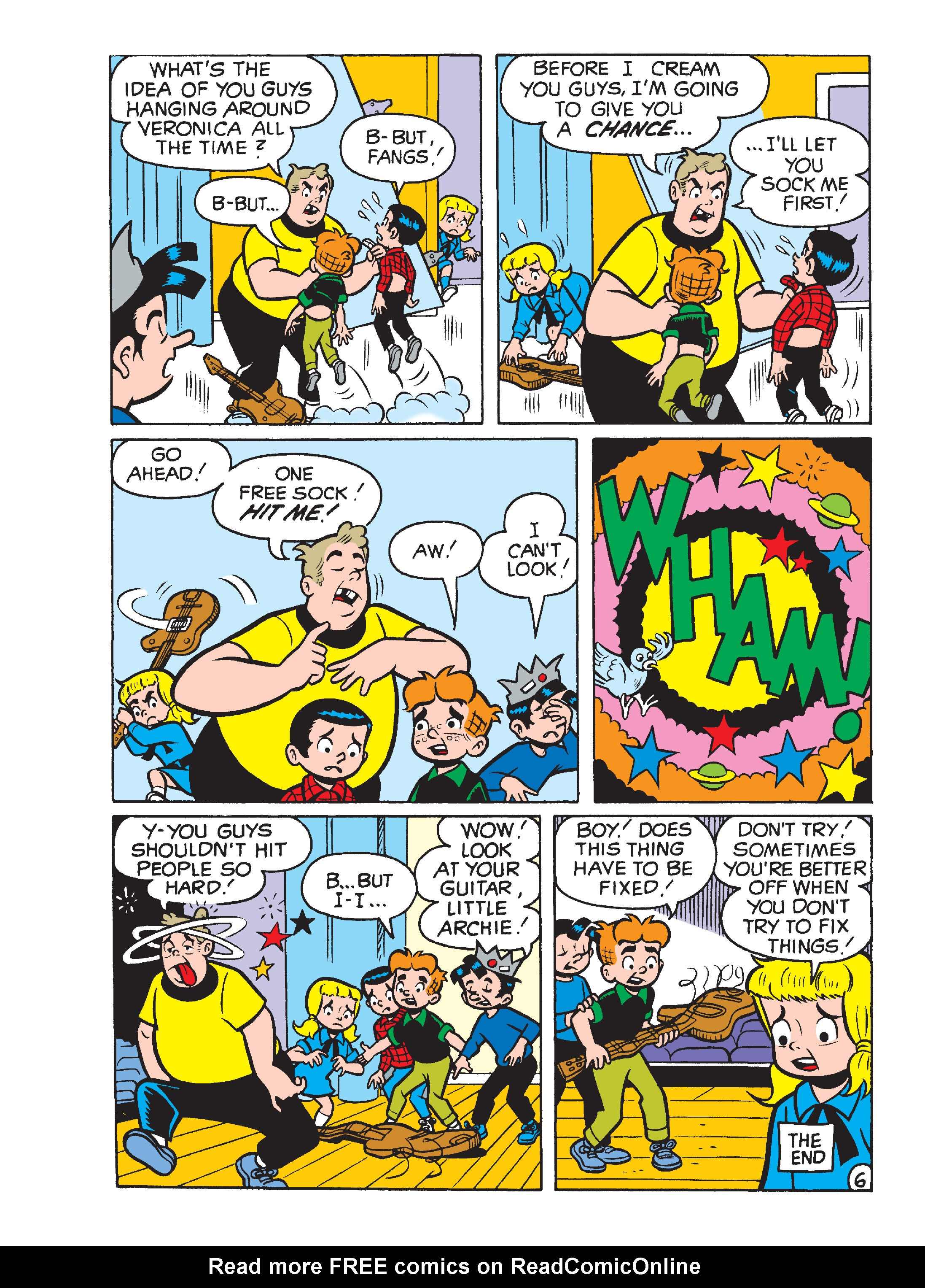 Read online Archie's Funhouse Double Digest comic -  Issue #15 - 254