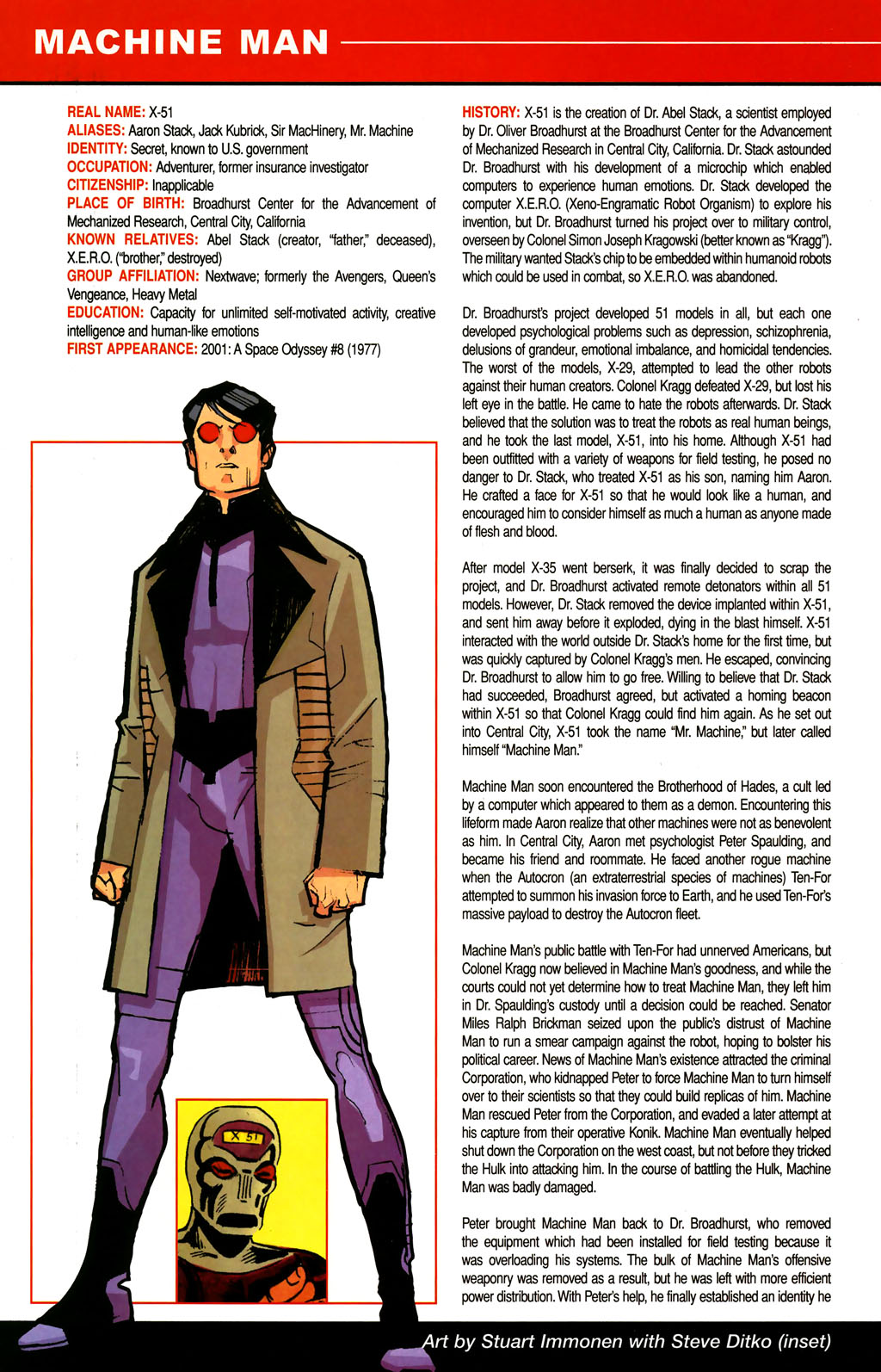 Read online All-New Official Handbook of the Marvel Universe A to Z comic -  Issue #6 - 44