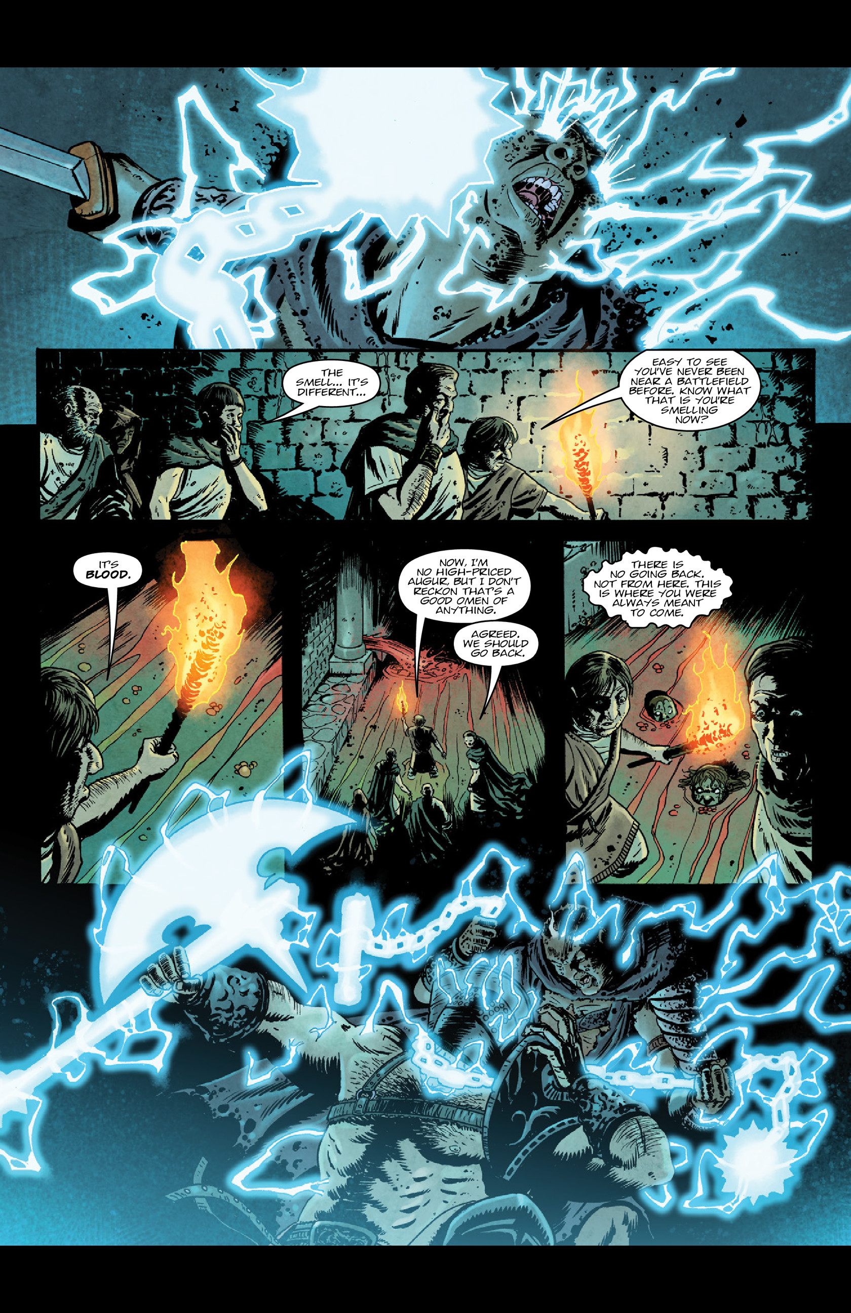 Read online Aquila comic -  Issue #5 - 6