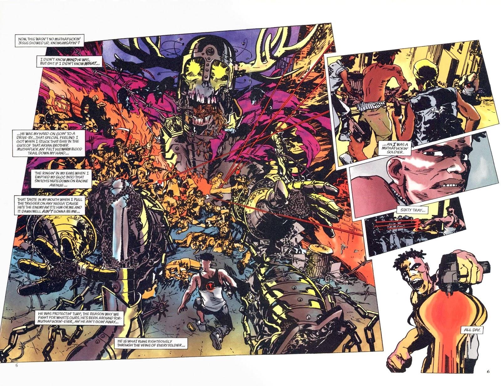 Read online Weird War Tales (1997) comic -  Issue #1 - 14