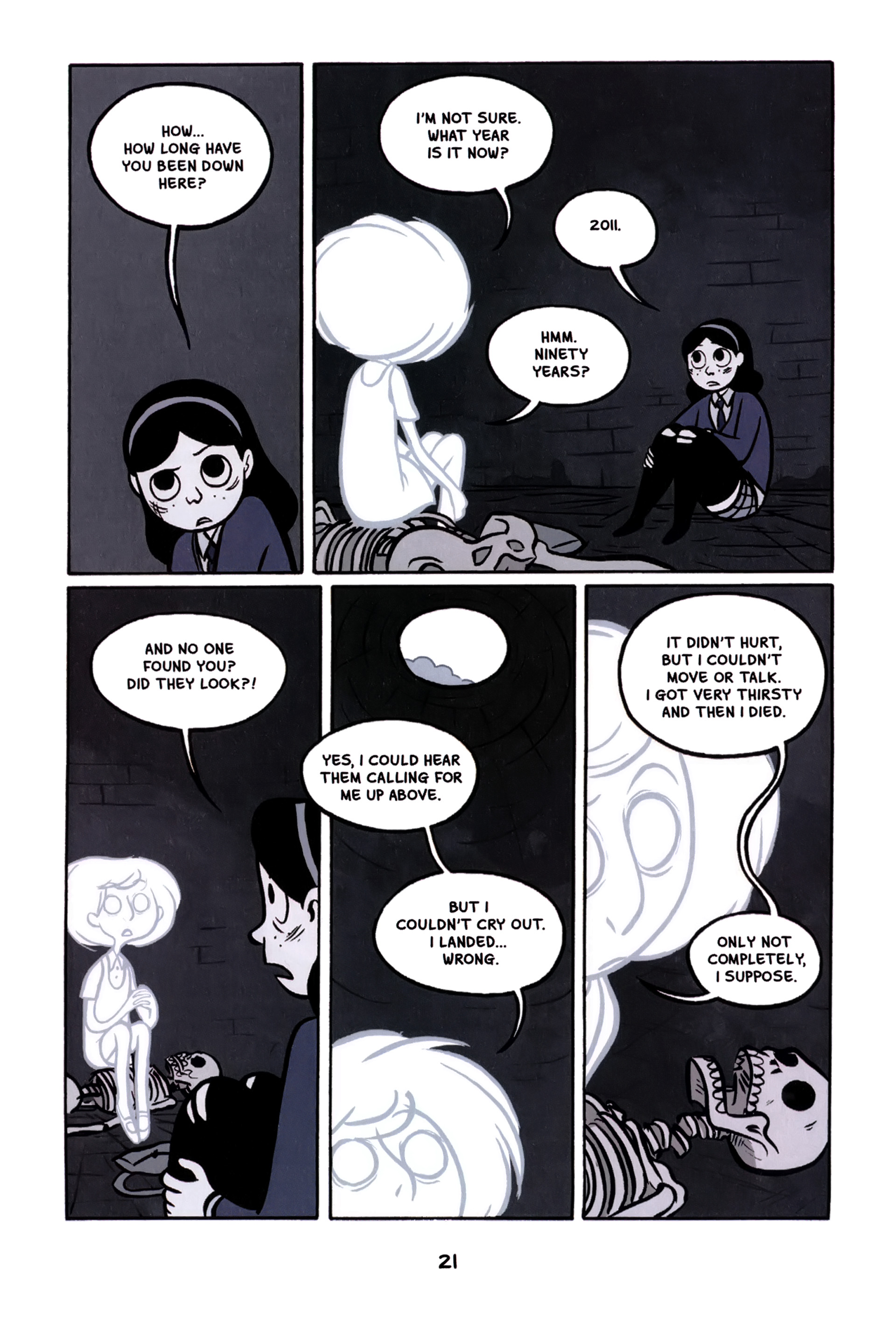 Read online Anya's Ghost comic -  Issue #1 - 22