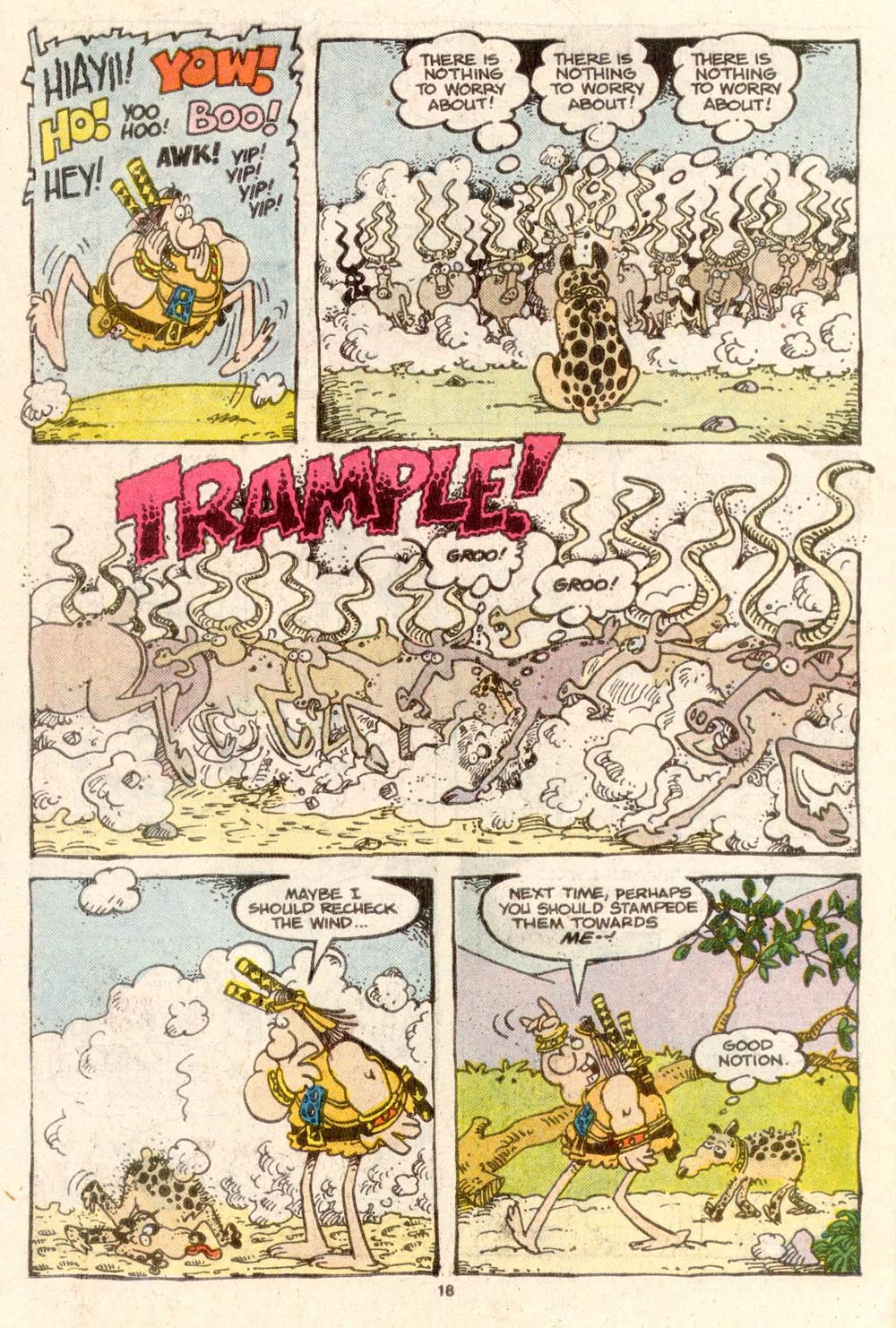 Read online Sergio Aragonés Groo the Wanderer comic -  Issue #37 - 19