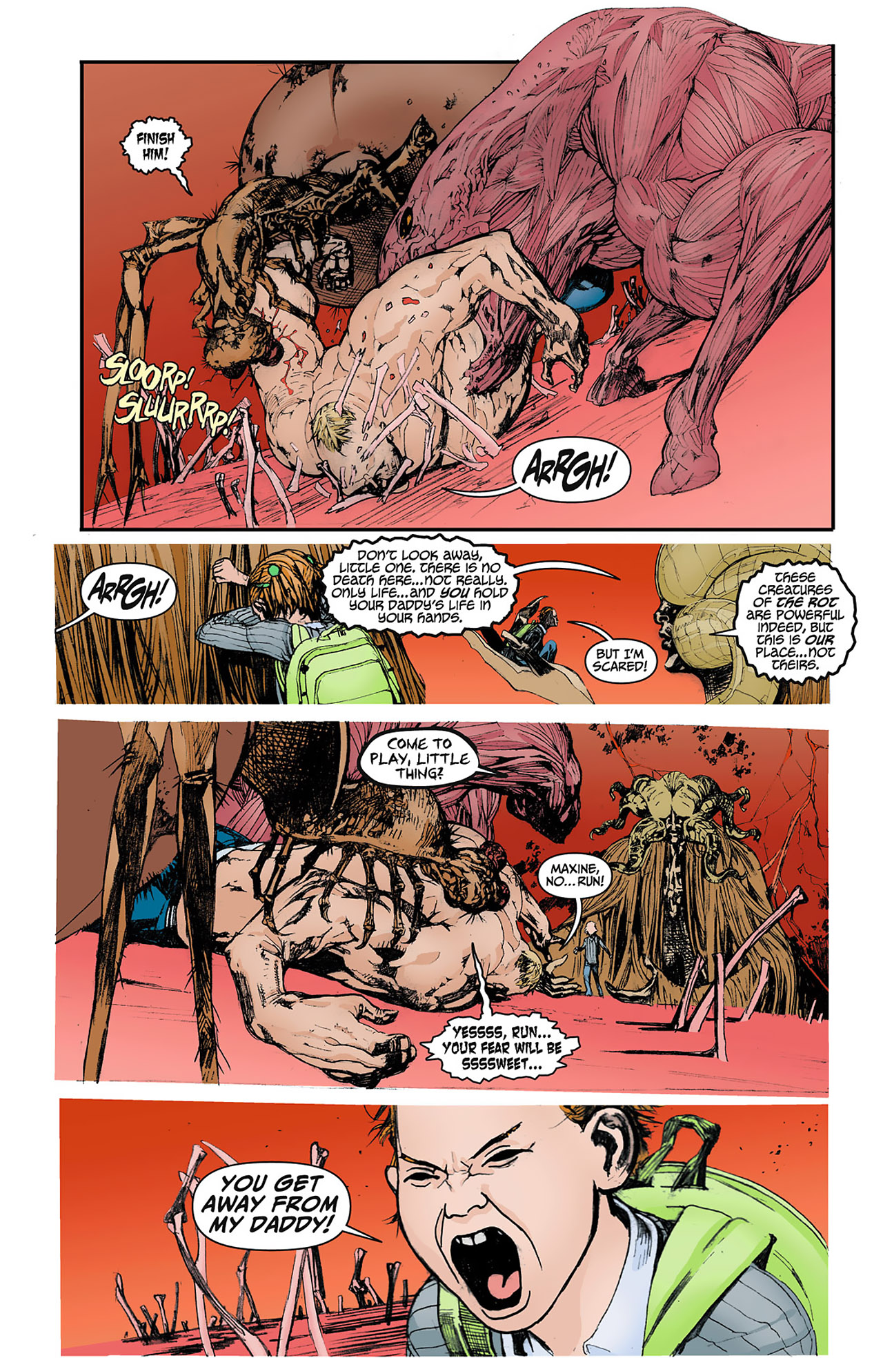Read online Animal Man (2011) comic -  Issue #4 - 4