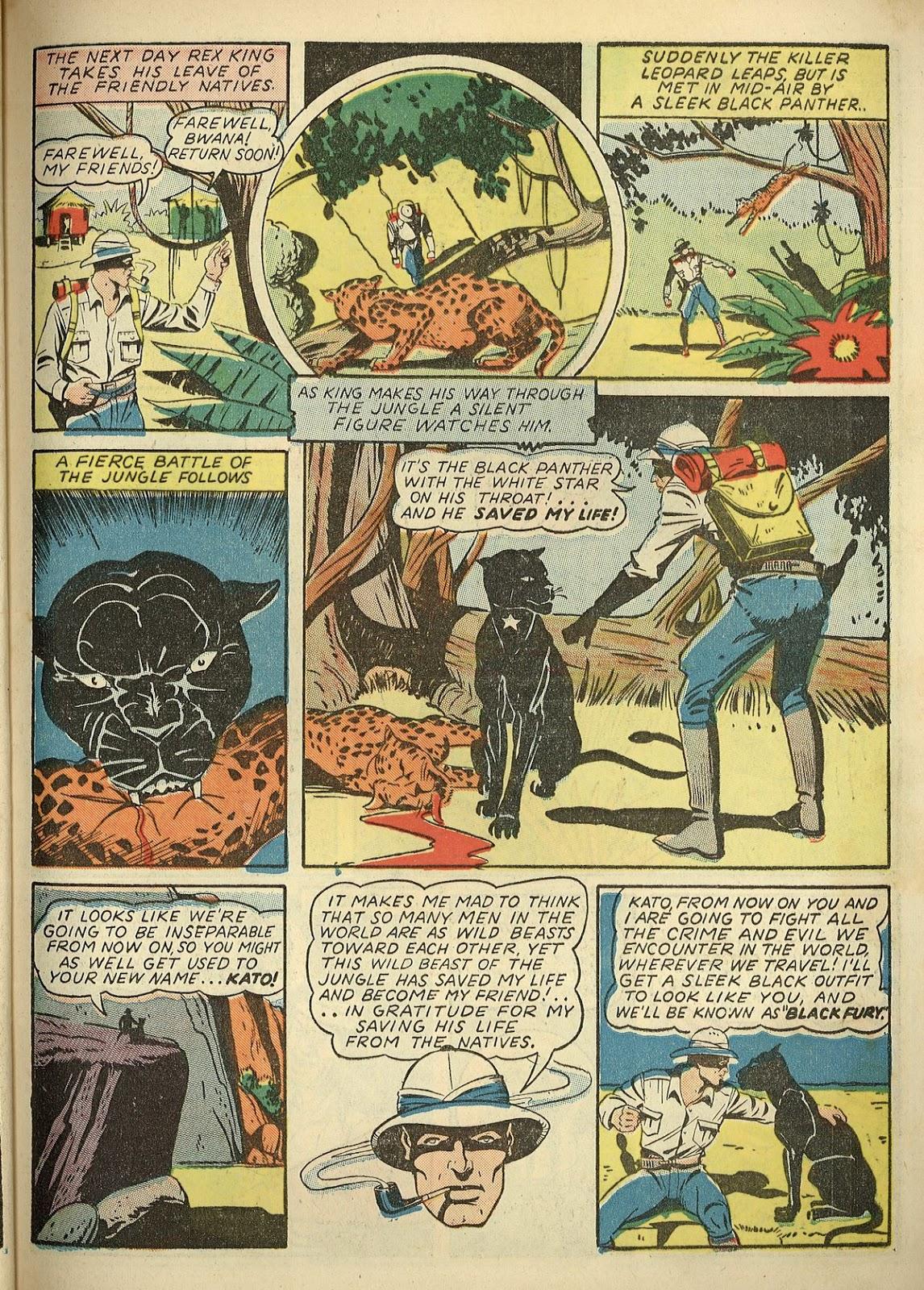 Read online Super-Magician Comics comic -  Issue #1 - 59