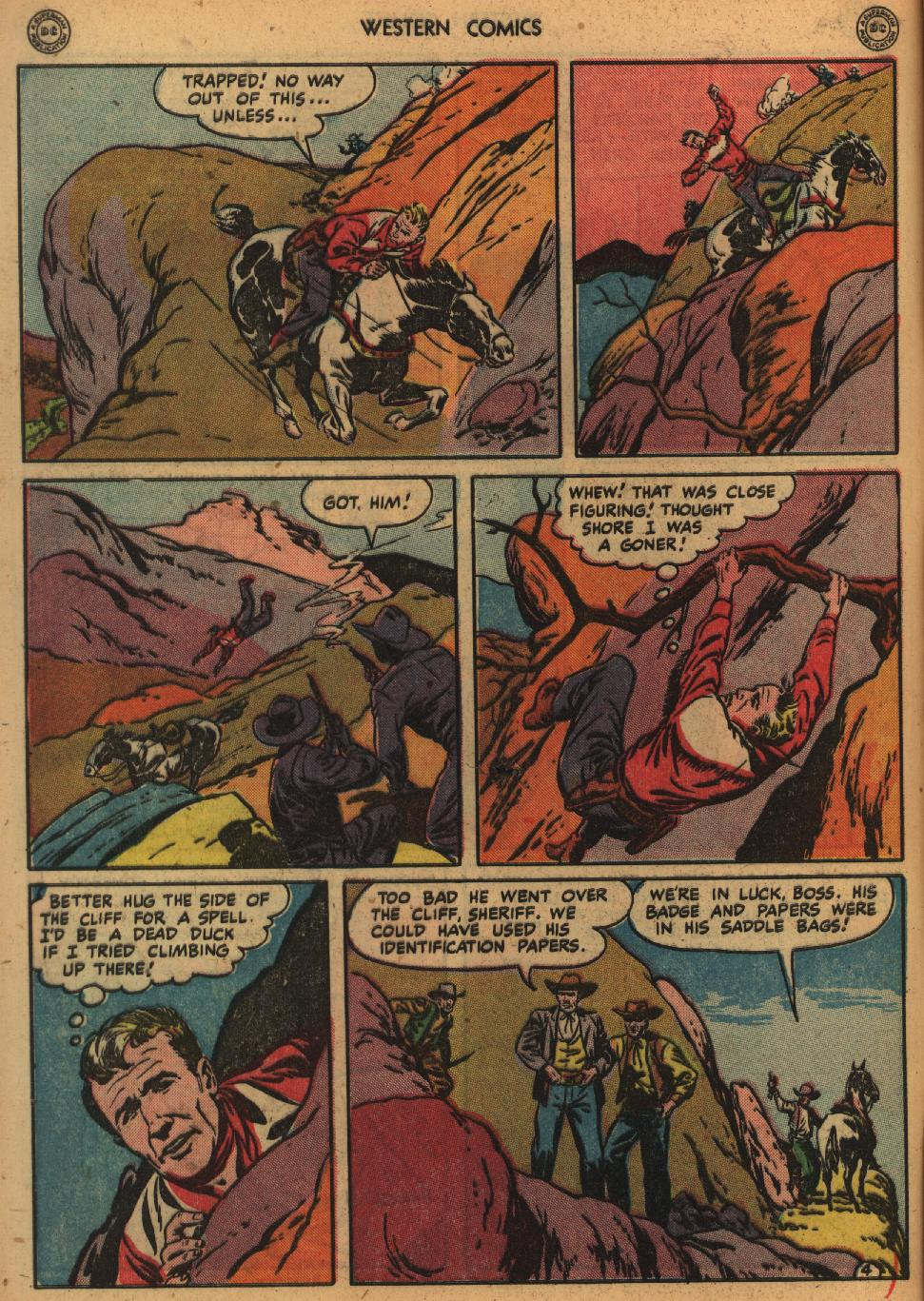 Western Comics issue 1 - Page 6