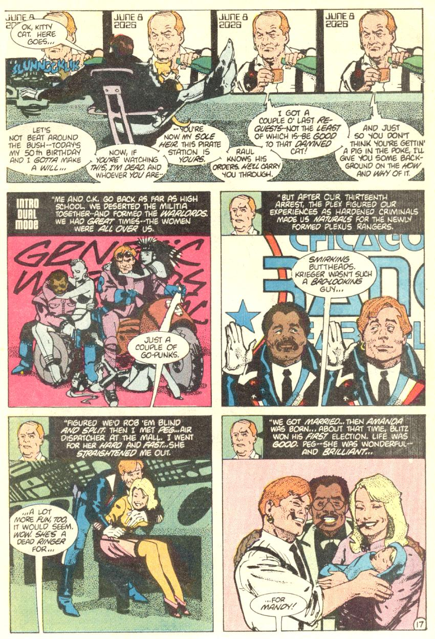 Read online American Flagg! comic -  Issue #3 - 18