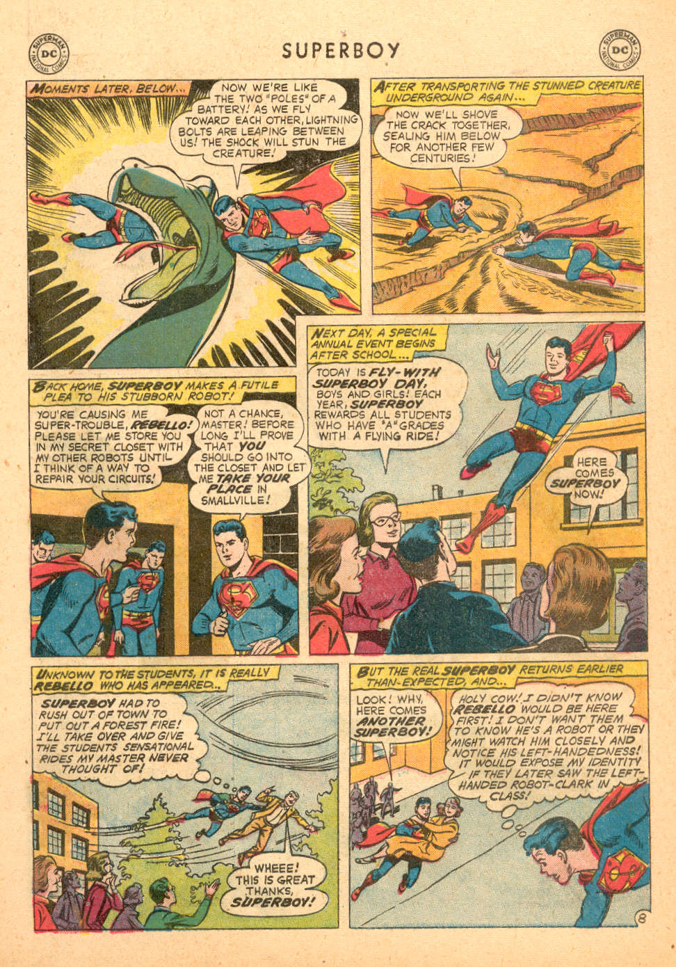 Superboy (1949) issue 72 - Page 9