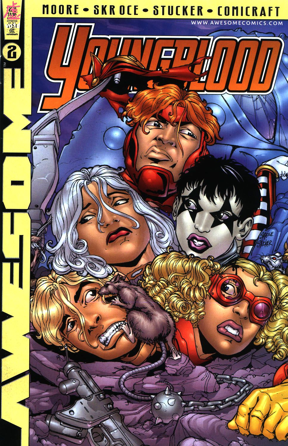 Youngblood (1998) issue 2 - Page 1