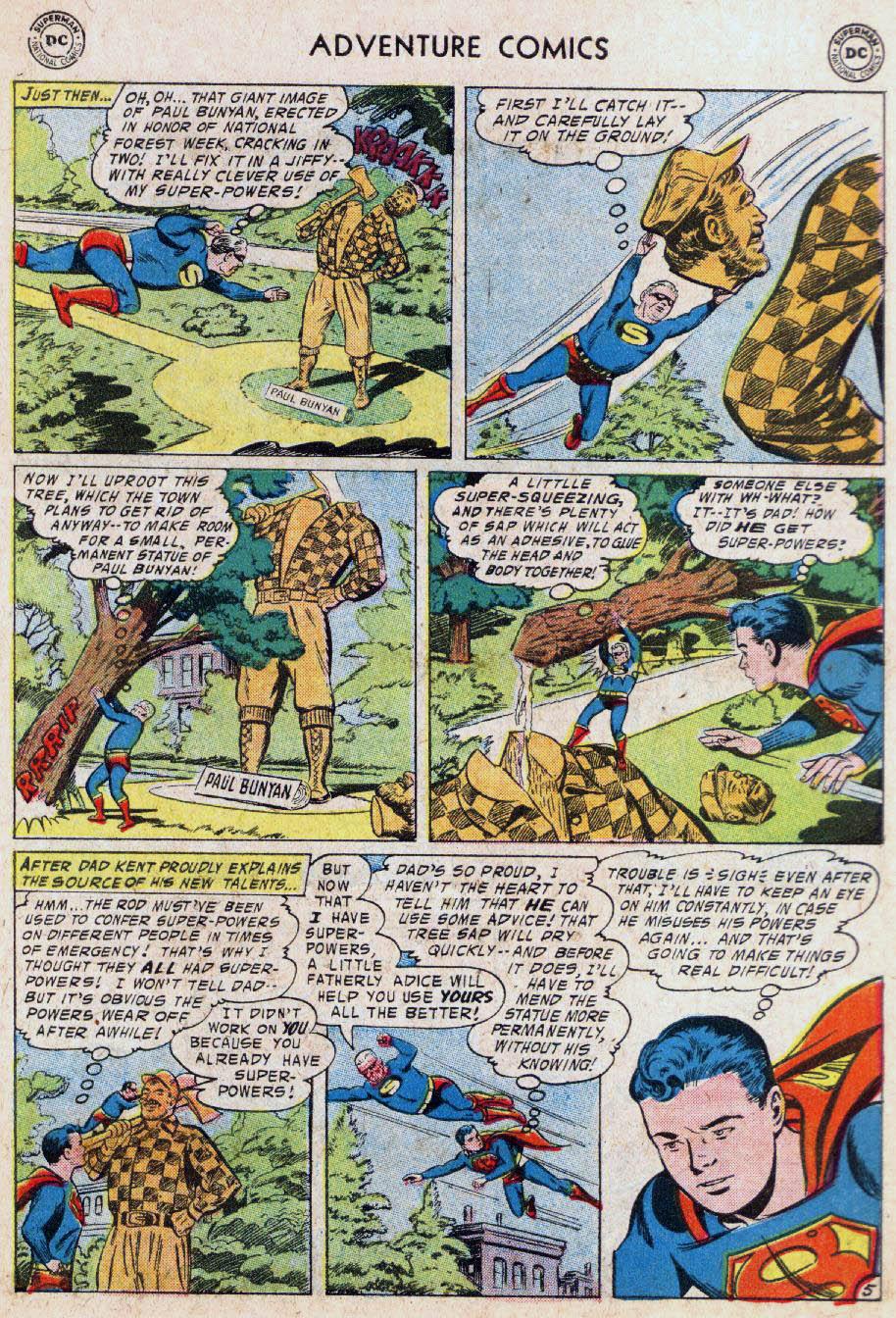 Read online Adventure Comics (1938) comic -  Issue #236 - 7