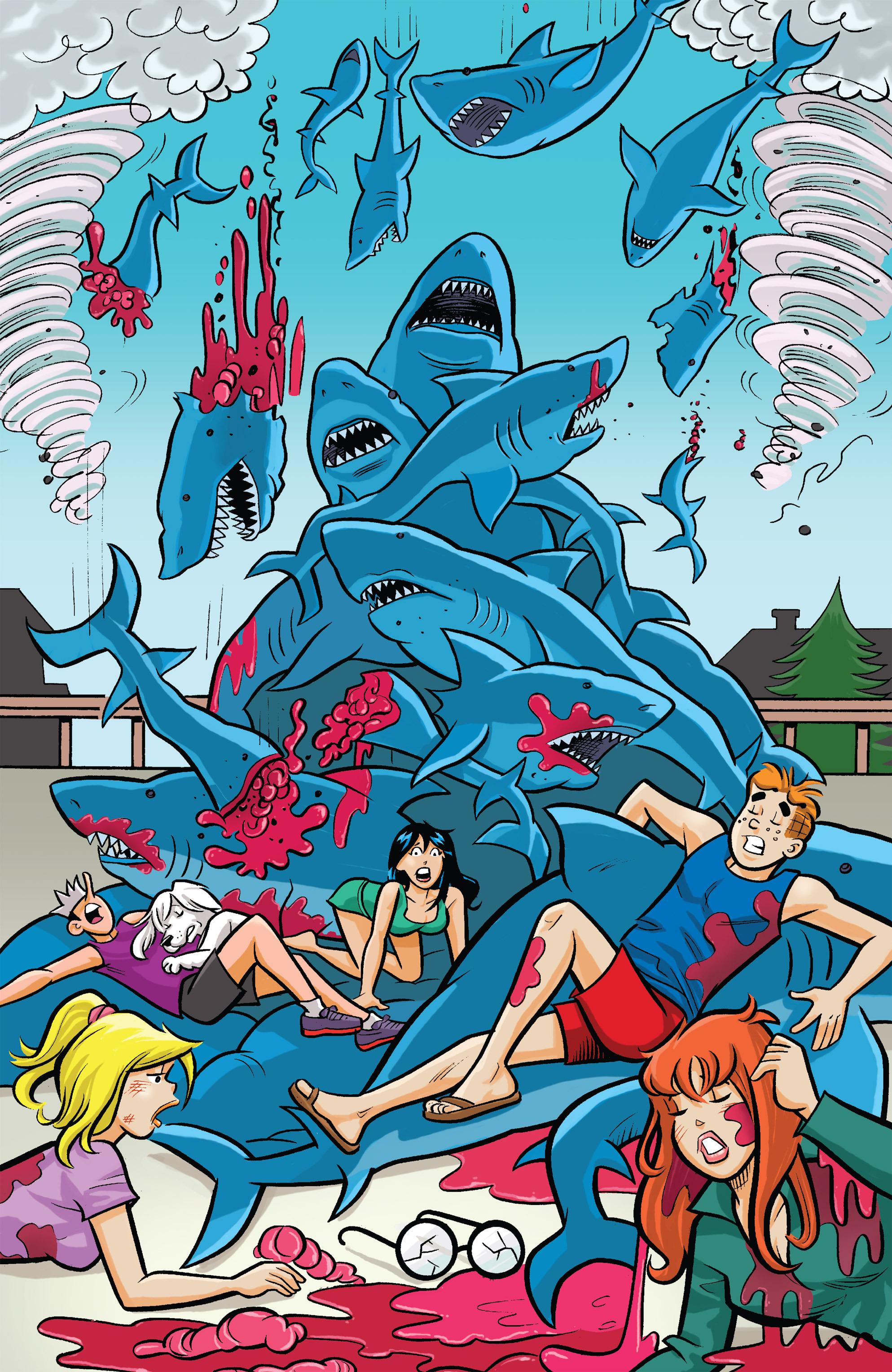 Read online Archie vs. Sharknado comic -  Issue #Archie vs. Sharknado Full - 39