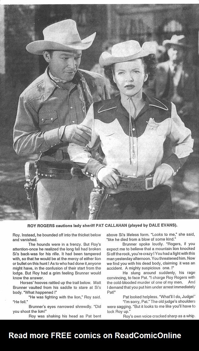 Read online Roy Rogers comic -  Issue #4 - 46